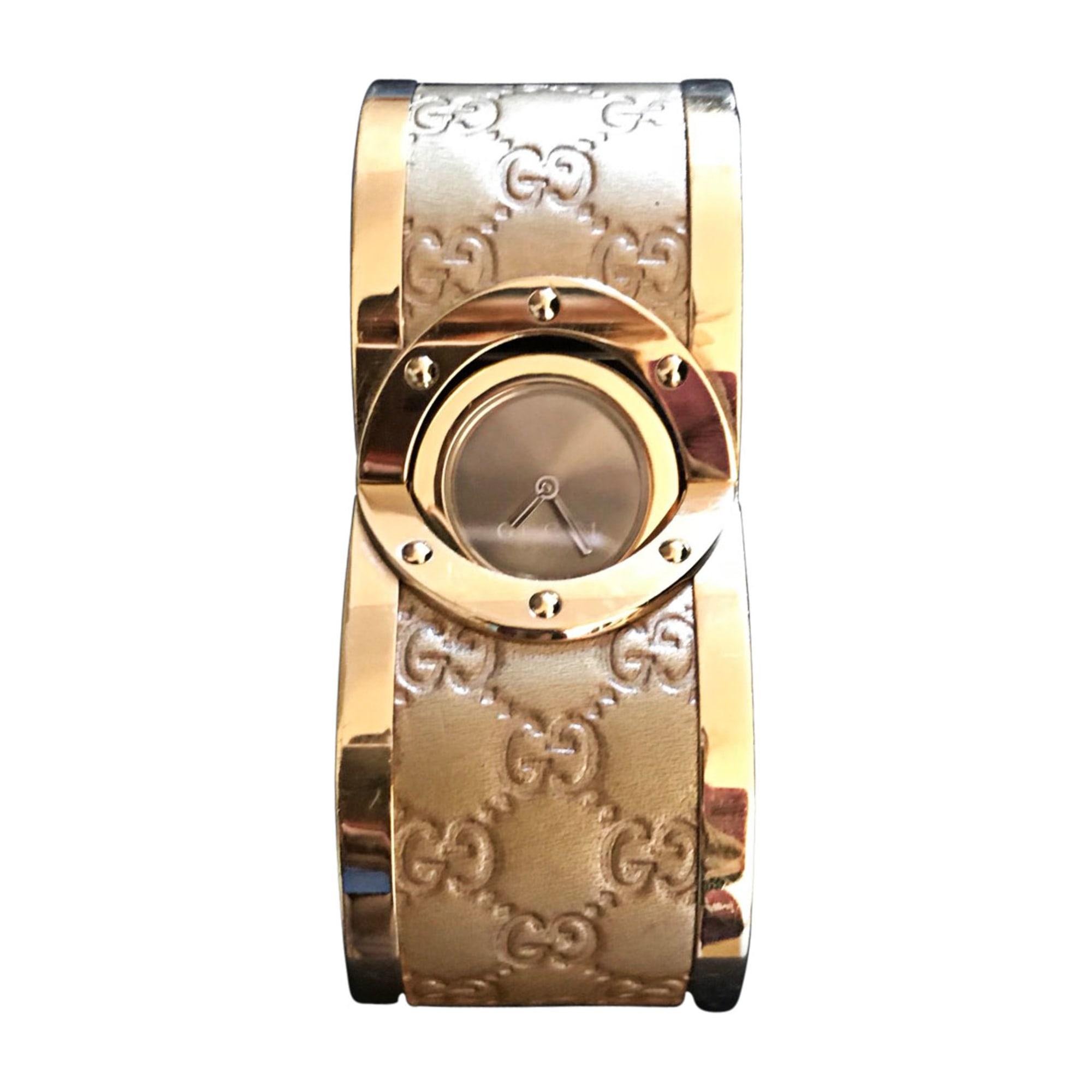 Armbanduhr GUCCI Gold, Bronze, Kupfer