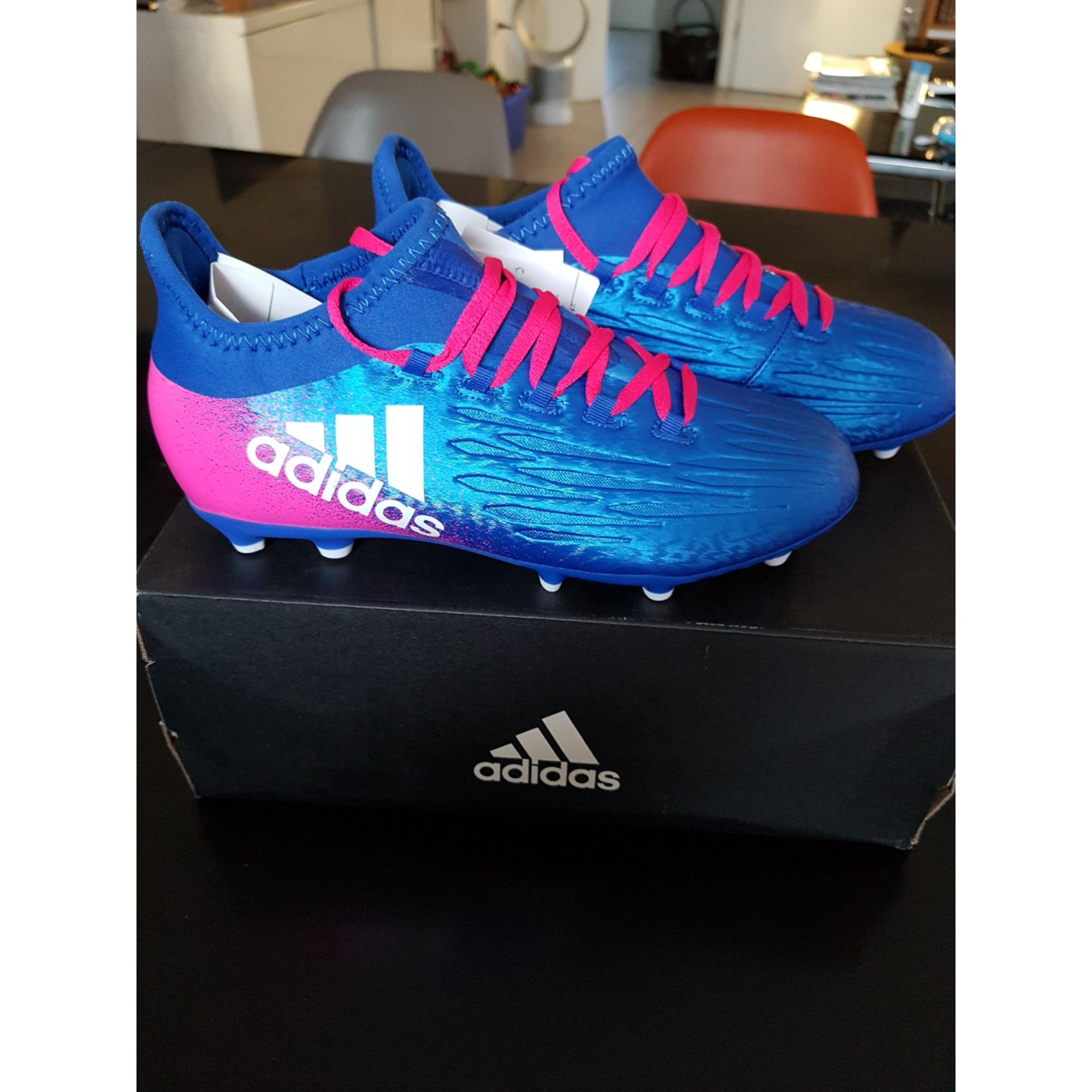chaussures de sport adidas bleu