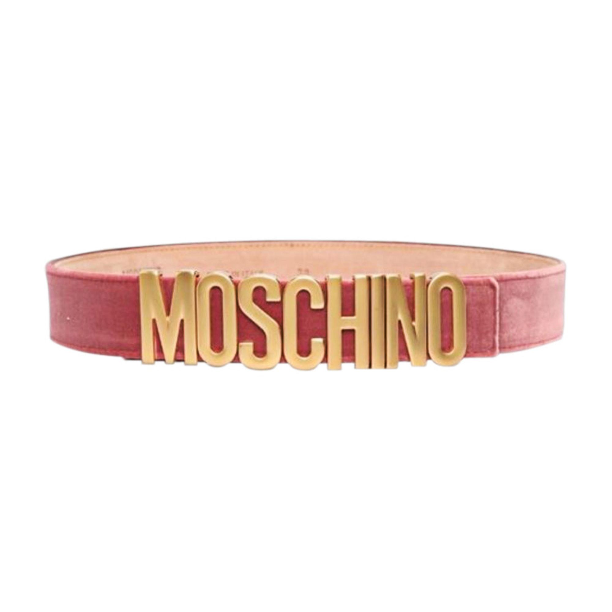 Cintura alta MOSCHINO Rosa, fucsia, rosa antico