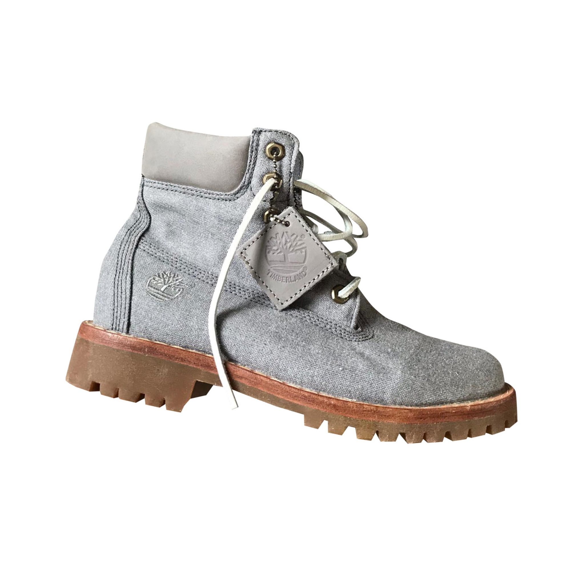 fa5bb176496 Chaussures à lacets TIMBERLAND 39 gris - 8720520