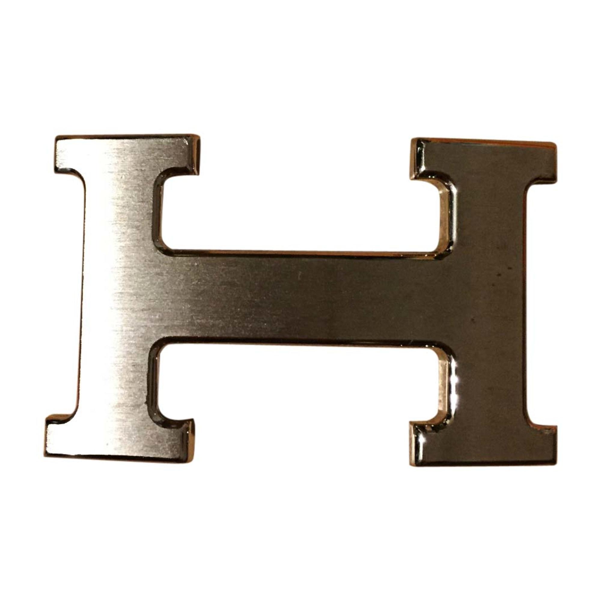 Cintura HERMÈS Argentato, acciaio