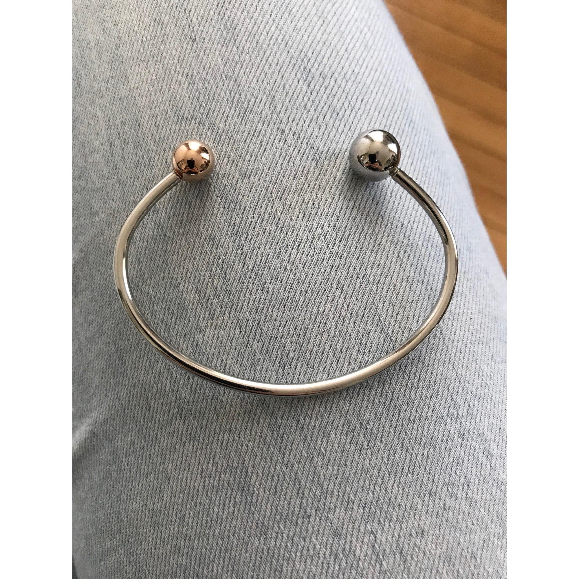 Bracelet AGATHA Argenté, acier