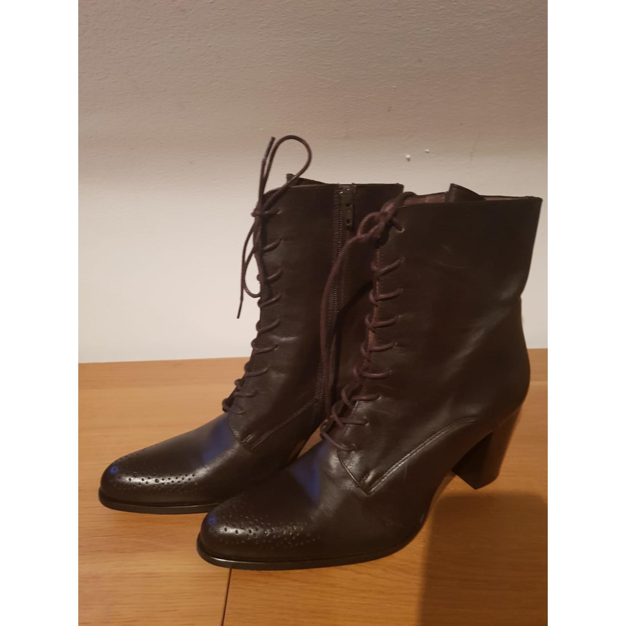 1c36fe5a99566 Bottines   low boots à talons MURATTI 40 noir - 8735727