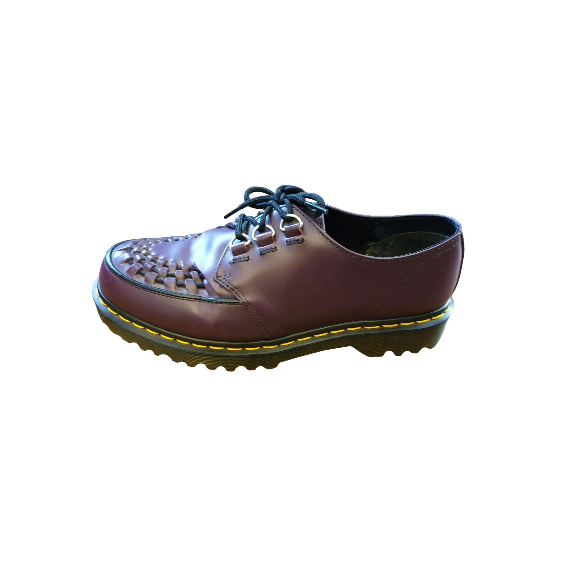 5ff473523ae Chaussures à lacets DR. MARTENS 40 violet vendu par Emilie 4142 ...
