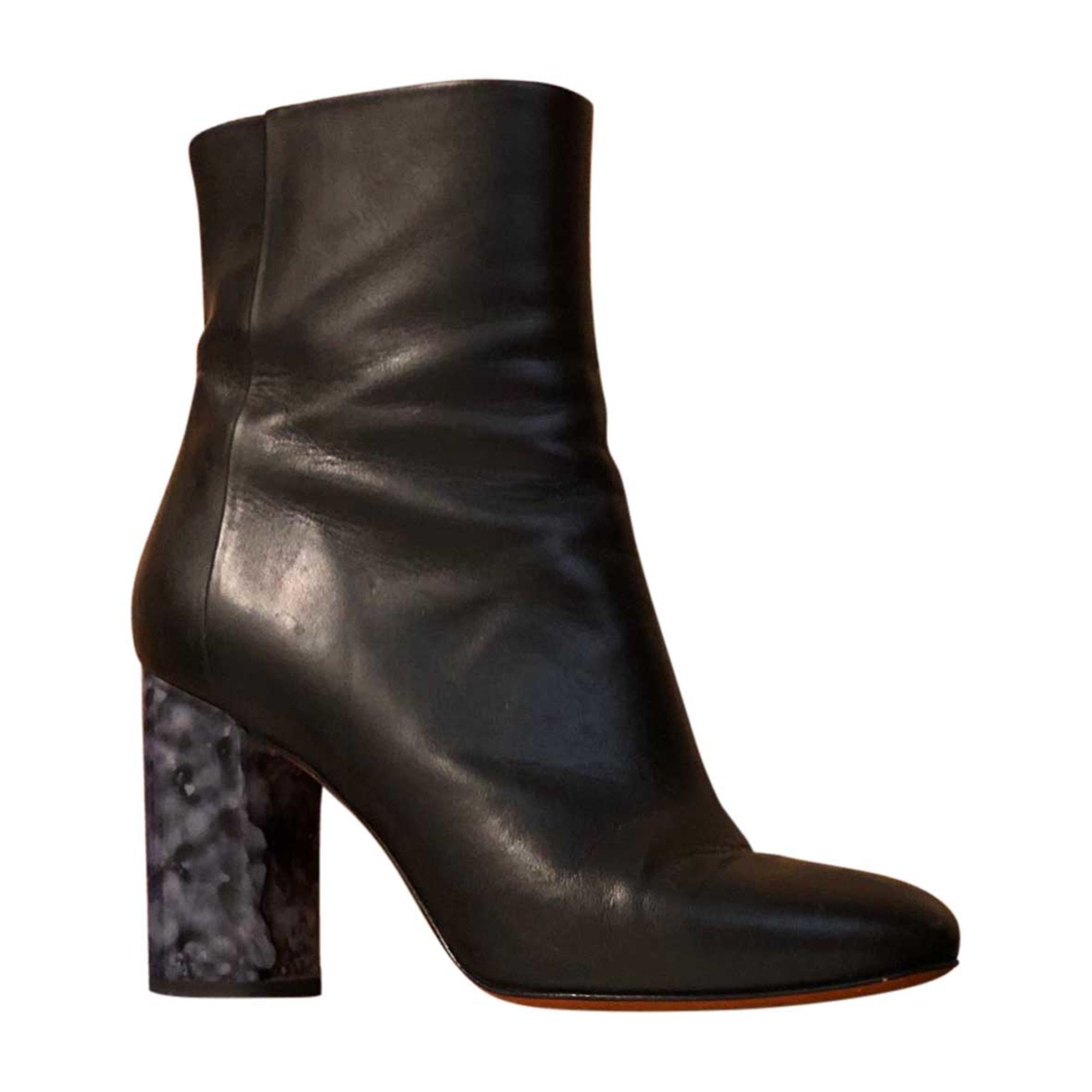 Bottines & low boots à talons CARVEN Noir