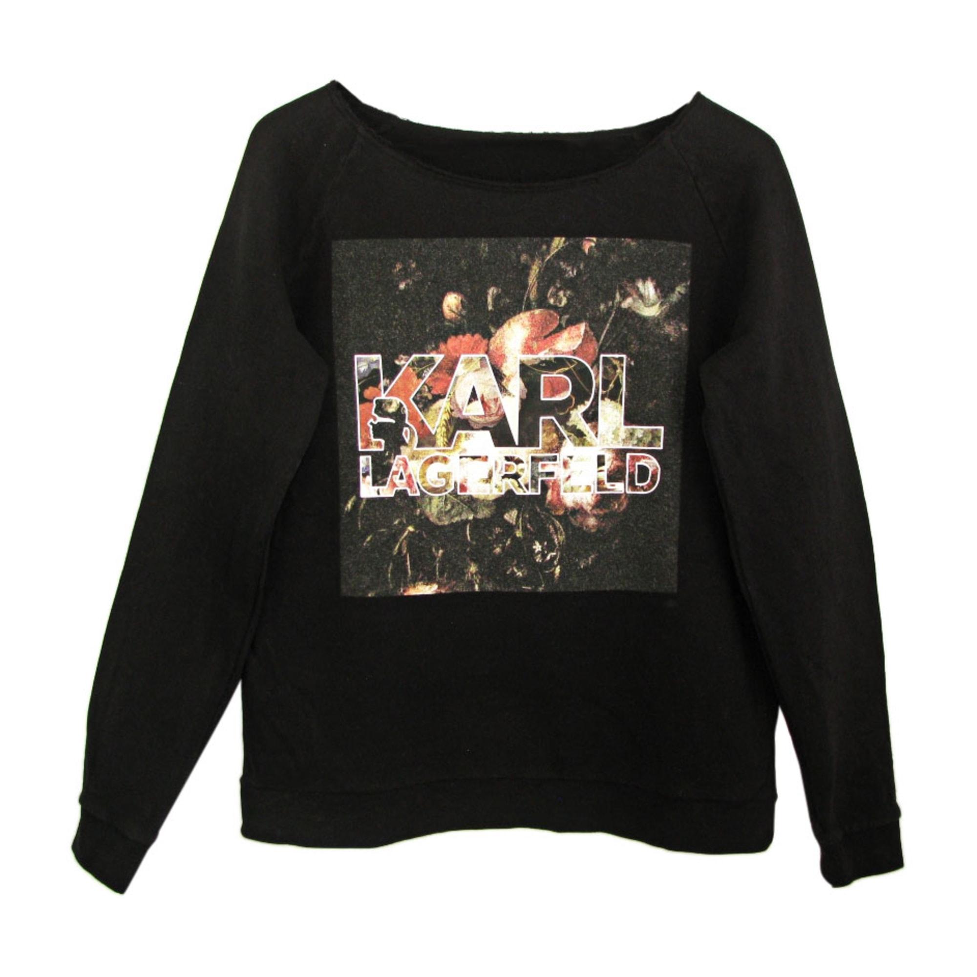 Sweatshirt KARL LAGERFELD Black