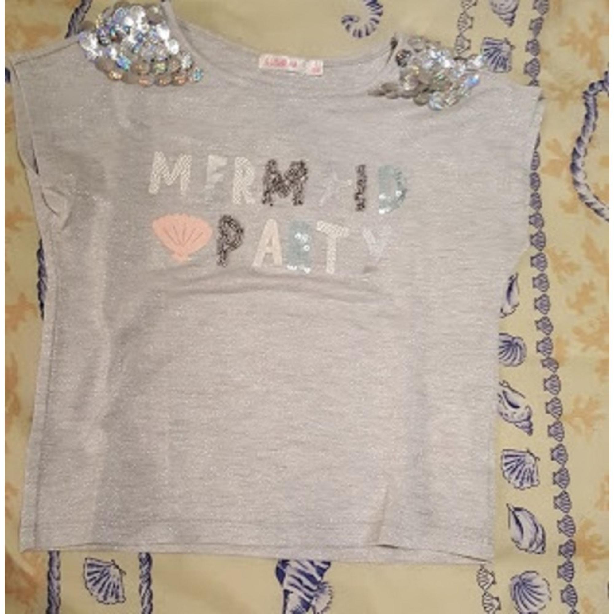 Top, Tee-shirt BILLIEBLUSH Gris, anthracite