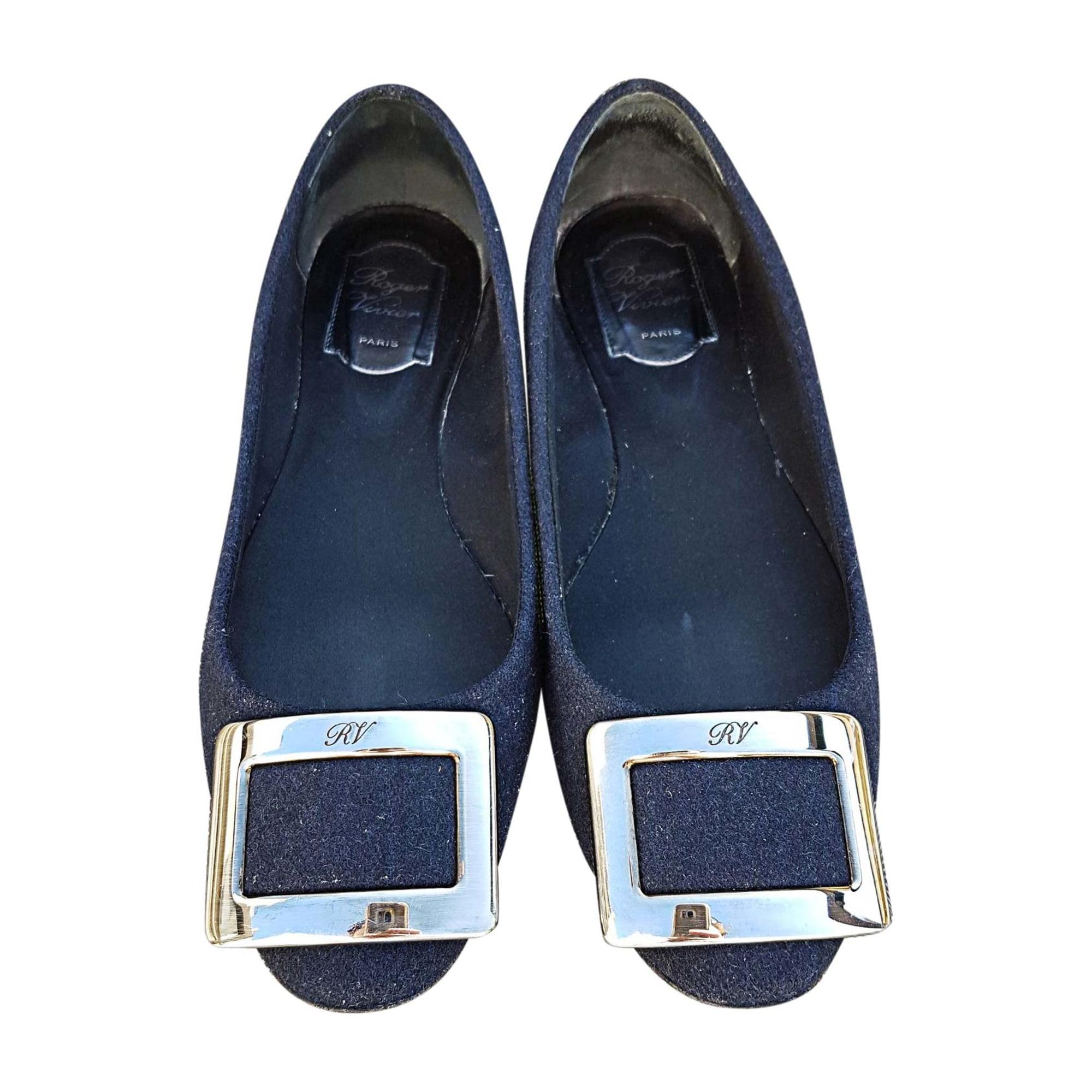 Ballet Flats ROGER VIVIER Blue, navy, turquoise