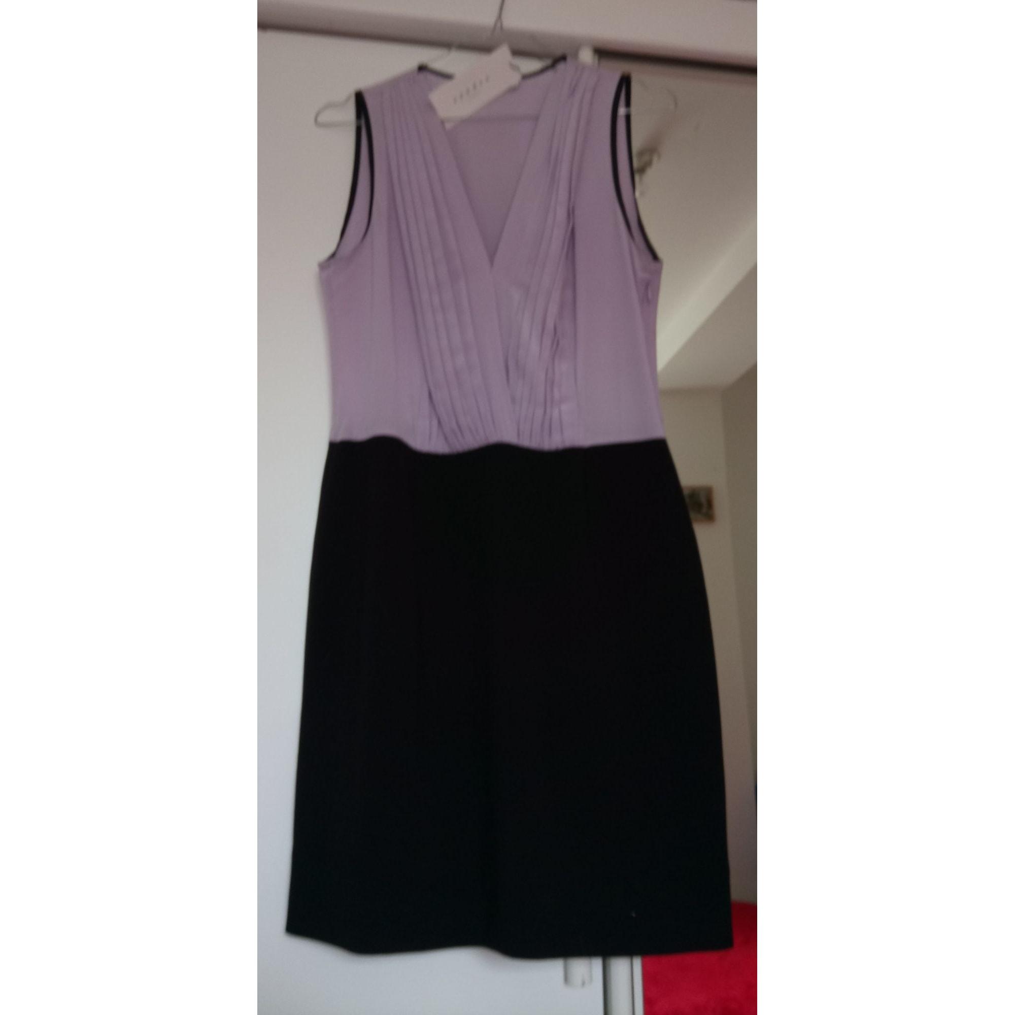 Maje Robe courte polyester-elasthane autre 38 (M, T2)