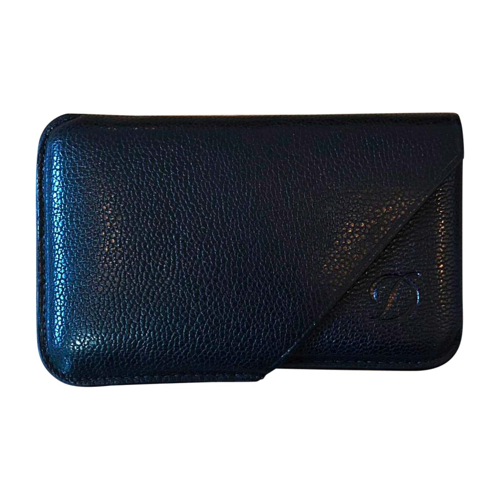 Porte-cartes ST DUPONT cuir noir