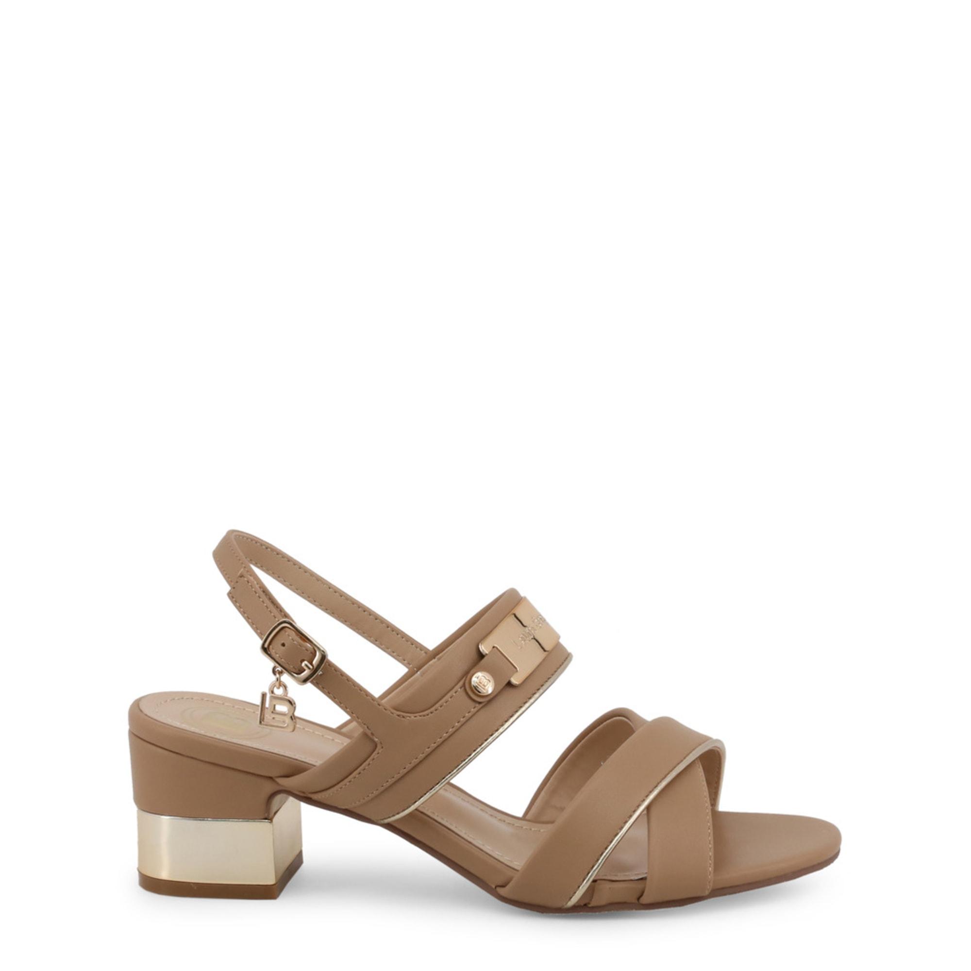 Sandales à talons LAURA BIAGIOTTI Beige, camel