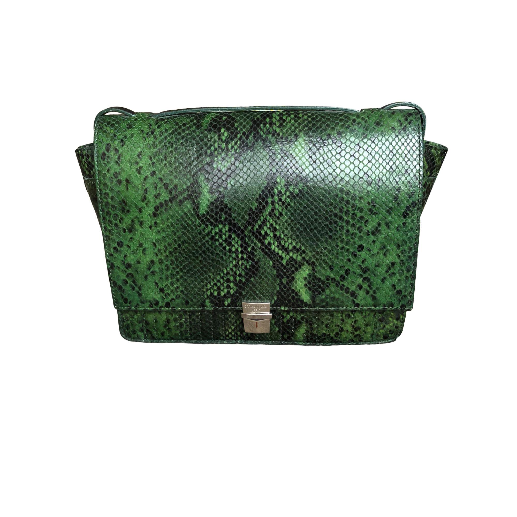 Leather Shoulder Bag ZADIG & VOLTAIRE Green