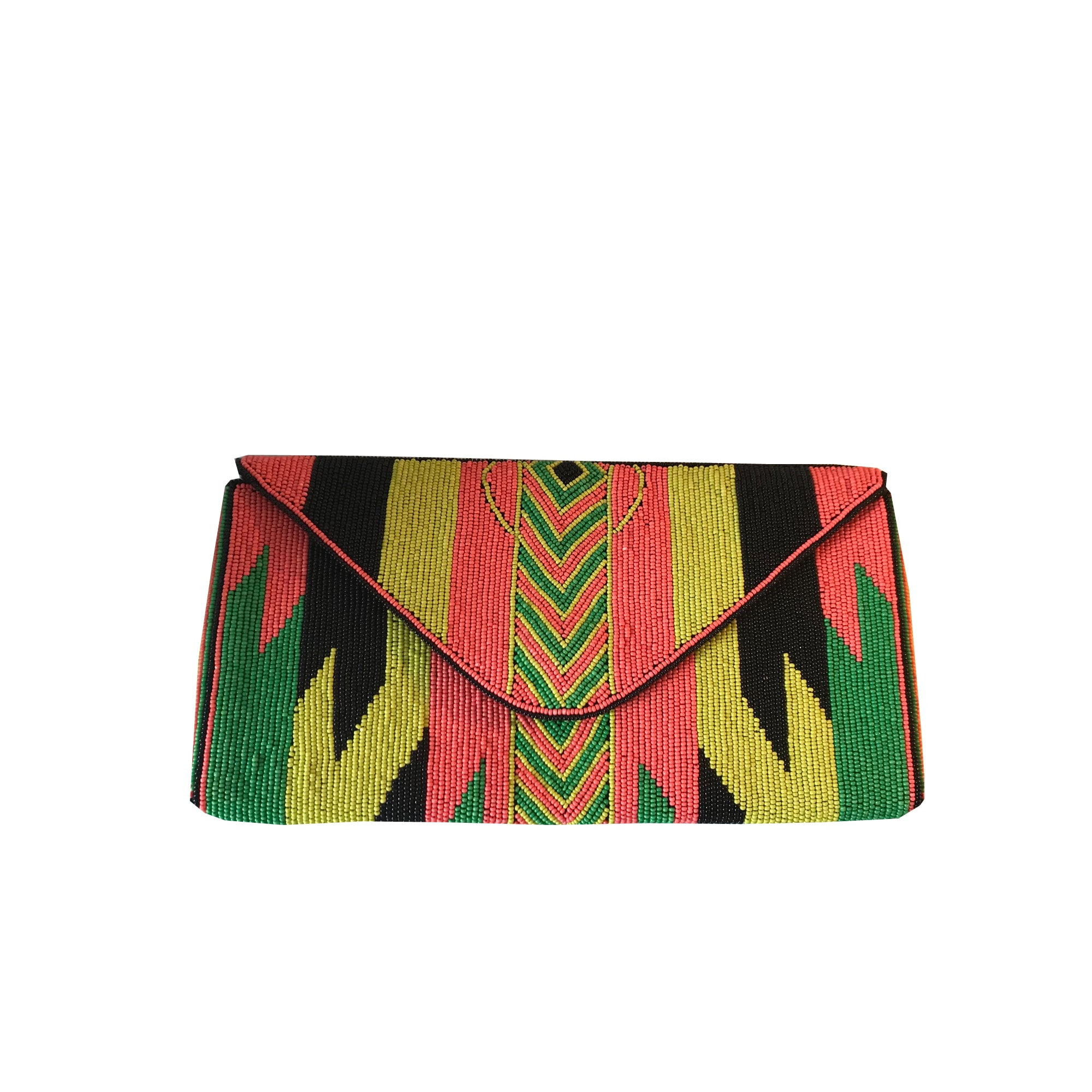 Pochette BA&SH a paillettes multicolore