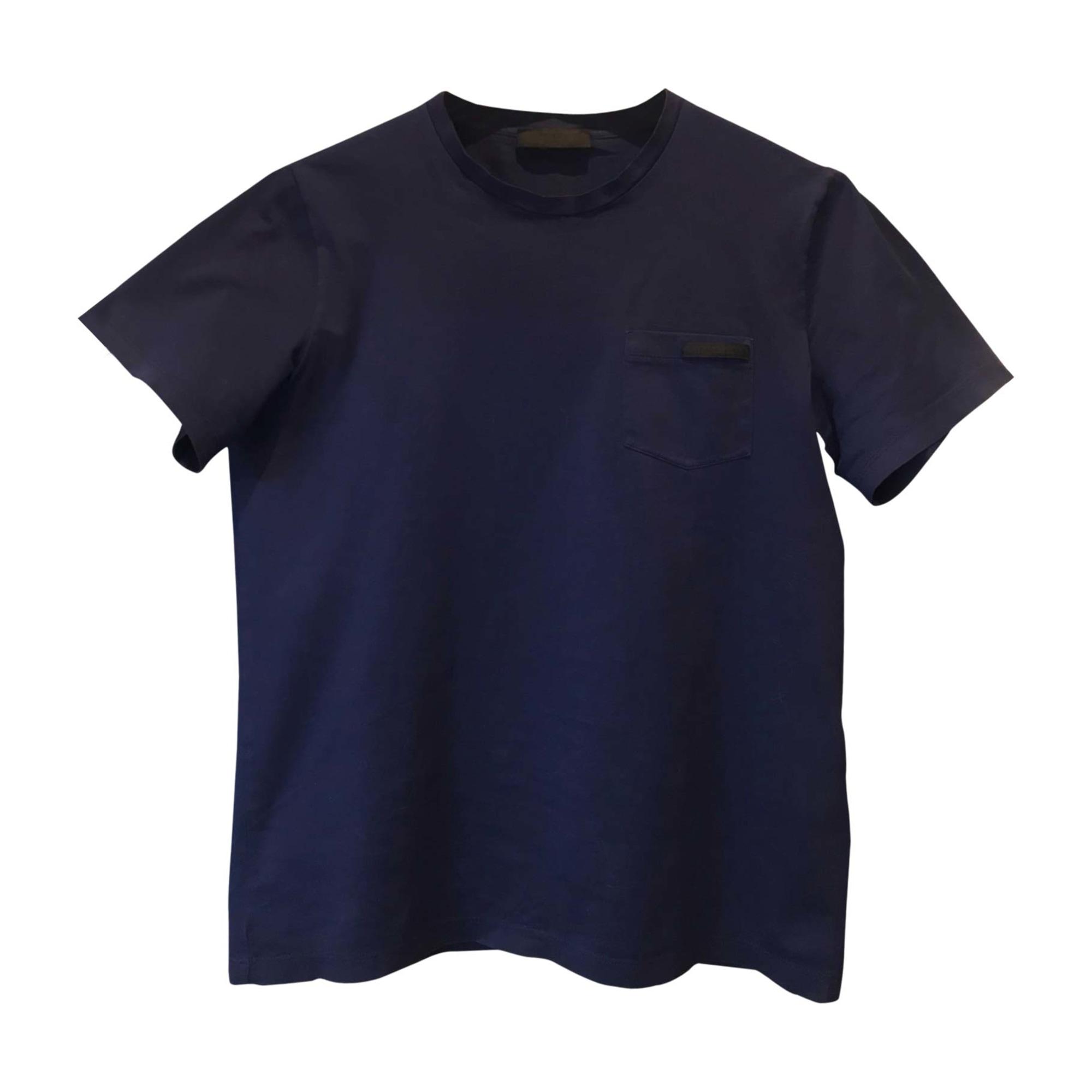 Tee-shirt PRADA Bleu, bleu marine, bleu turquoise