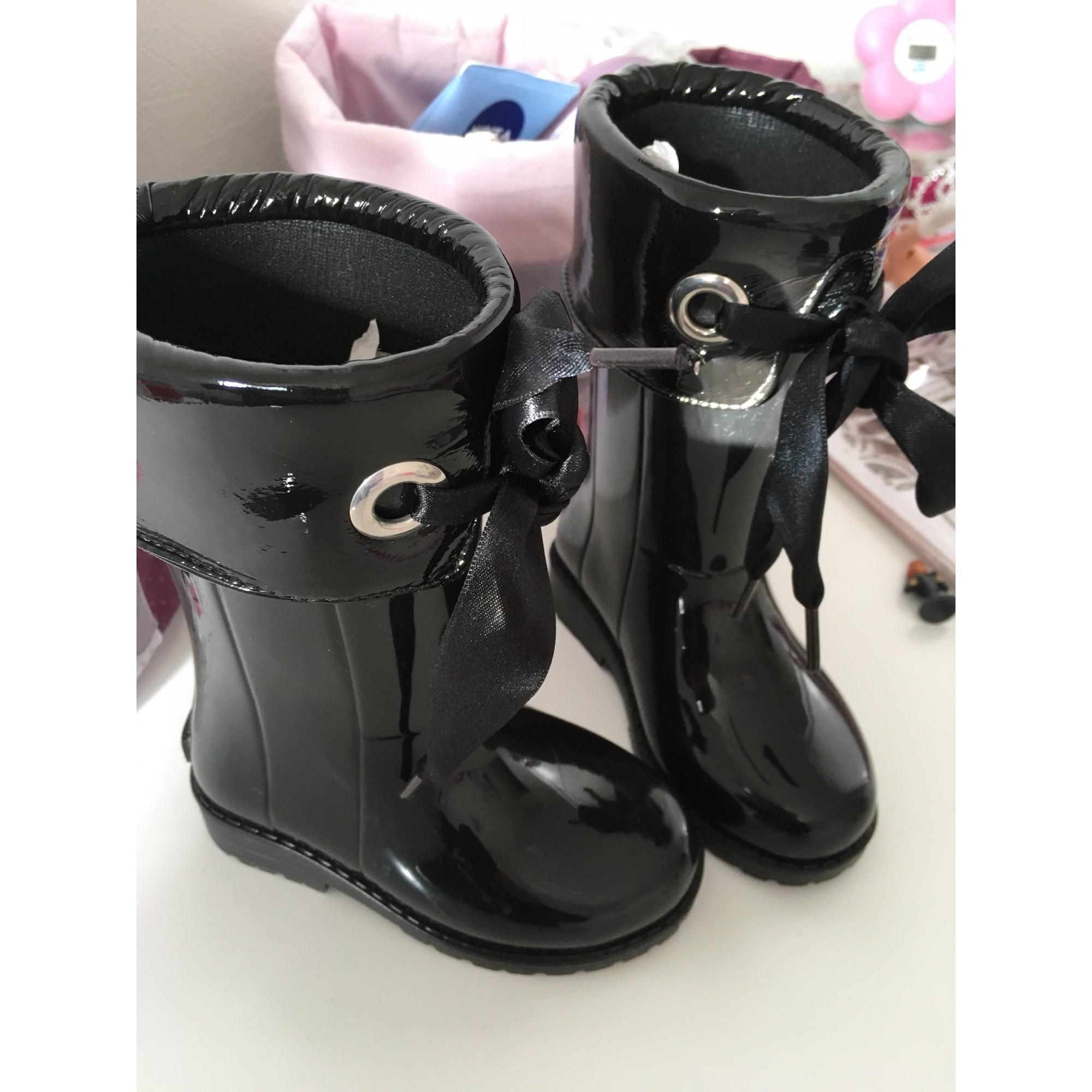 Bottes de pluie CHICCO caoutchouc noir 22