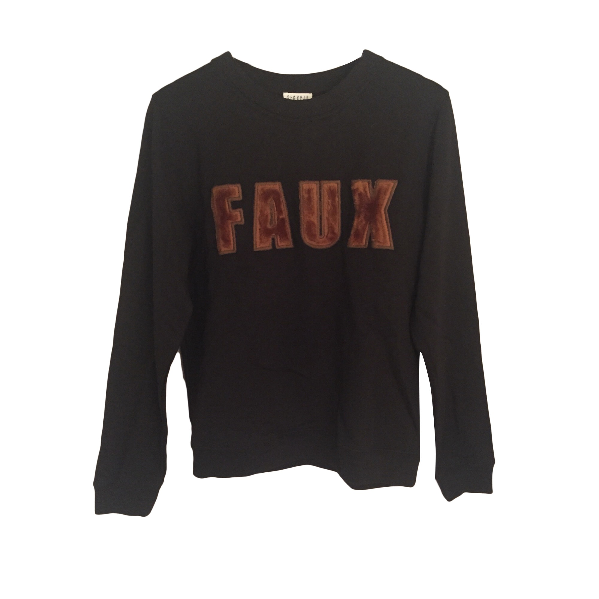 Sweatshirt CLAUDIE PIERLOT Black