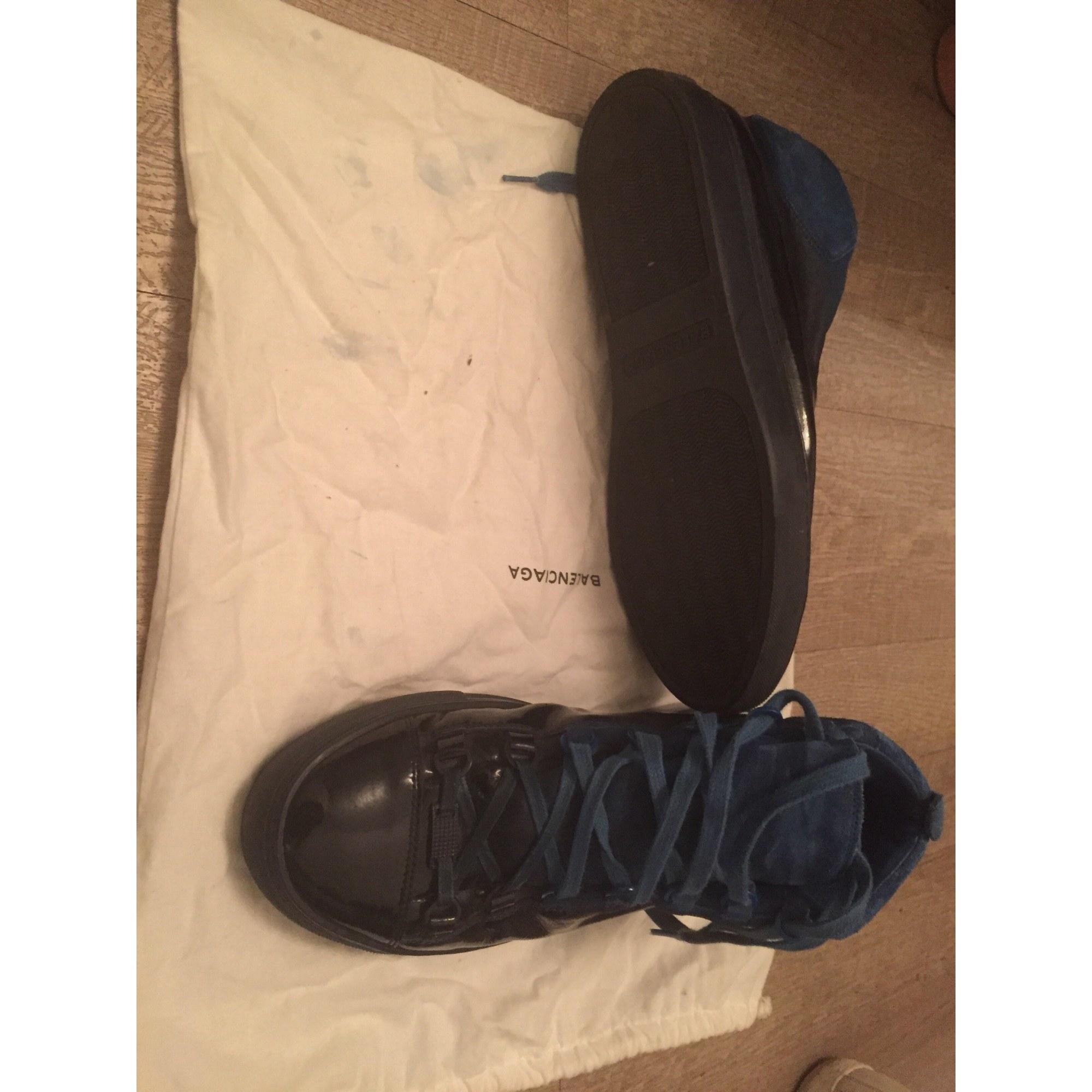 Scarpe da tennis BALENCIAGA Blu, blu navy, turchese