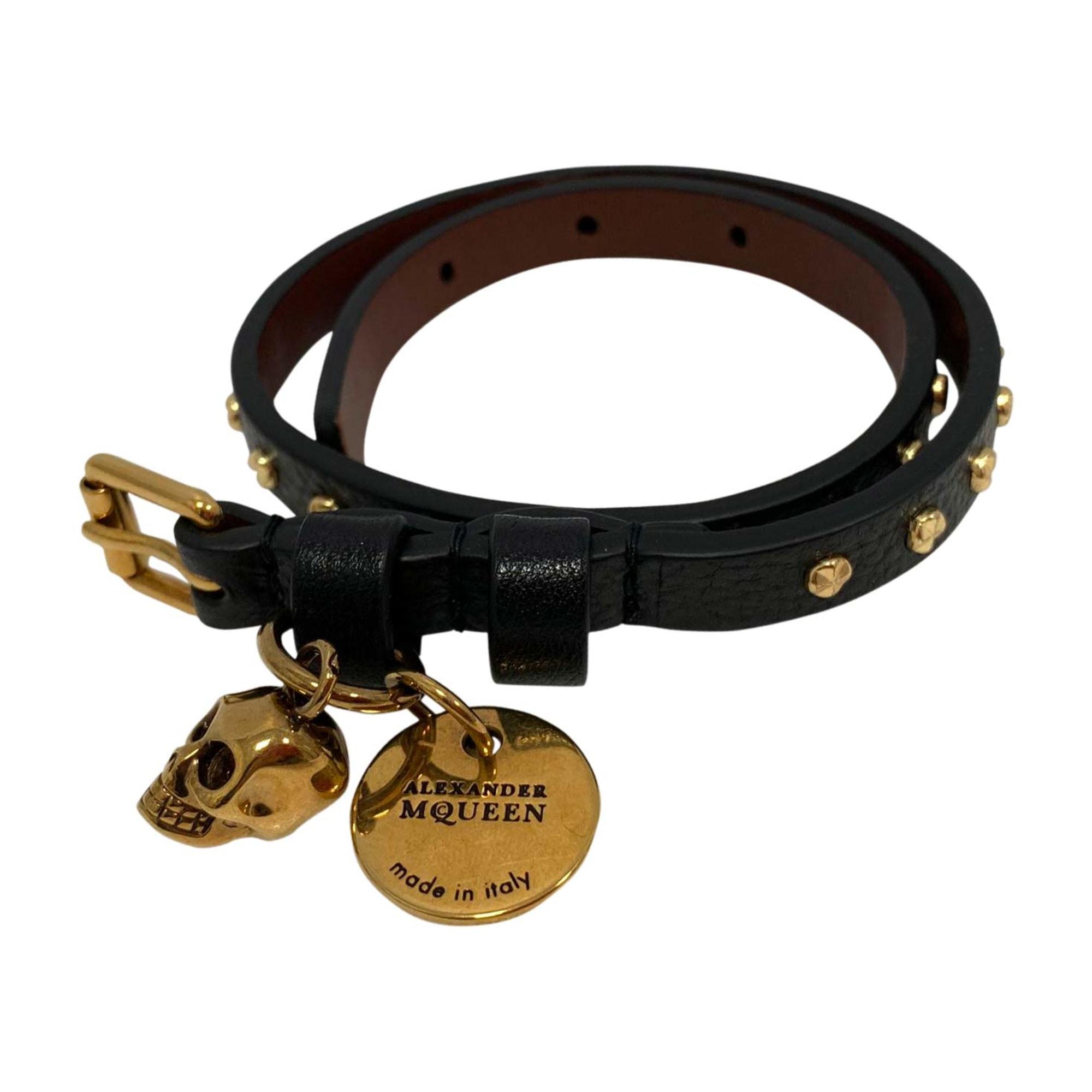 Bracelet ALEXANDER MCQUEEN Noir