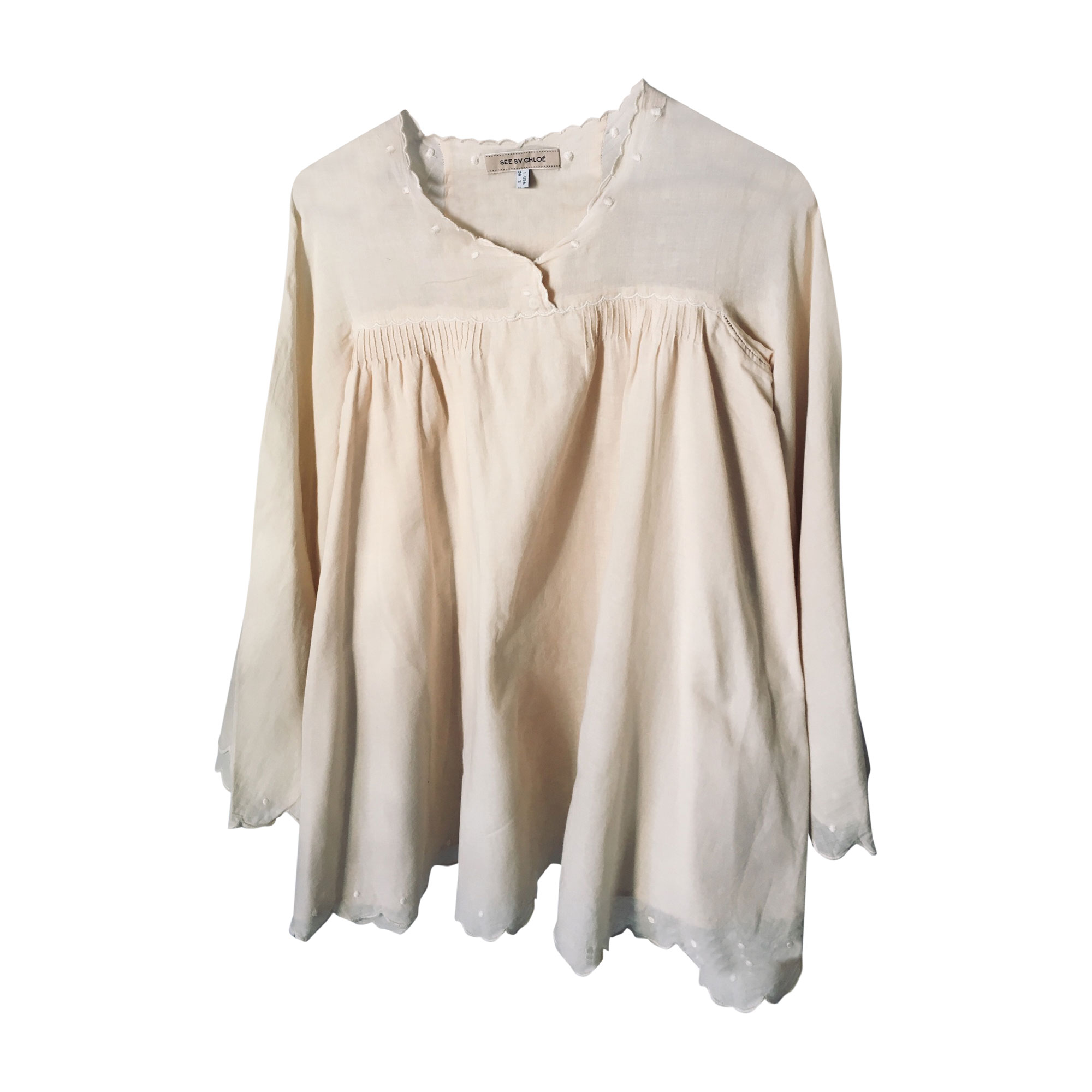 Blouse SEE BY CHLOE White, off-white, ecru