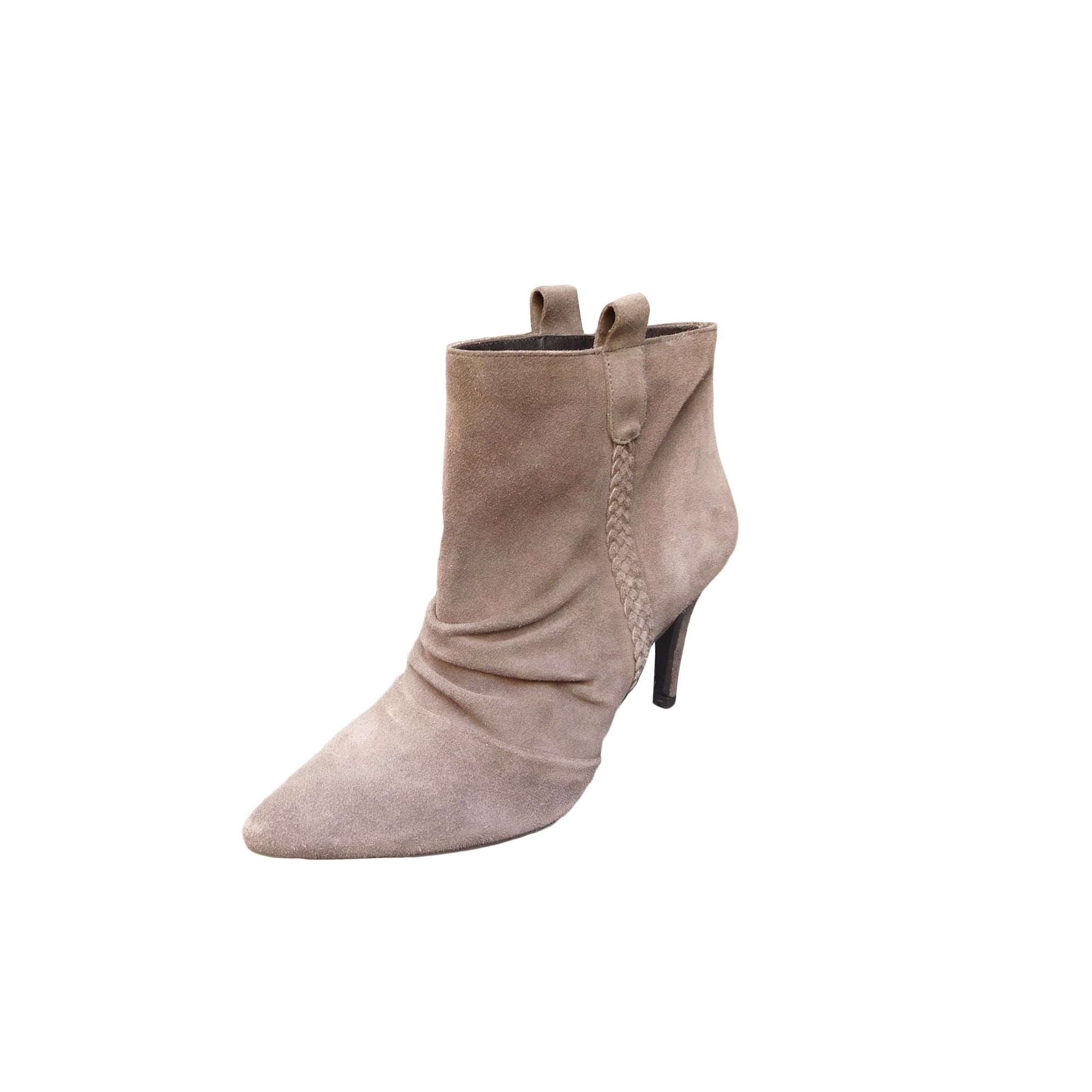 Bottines & low boots à talons IKKS Gris, anthracite
