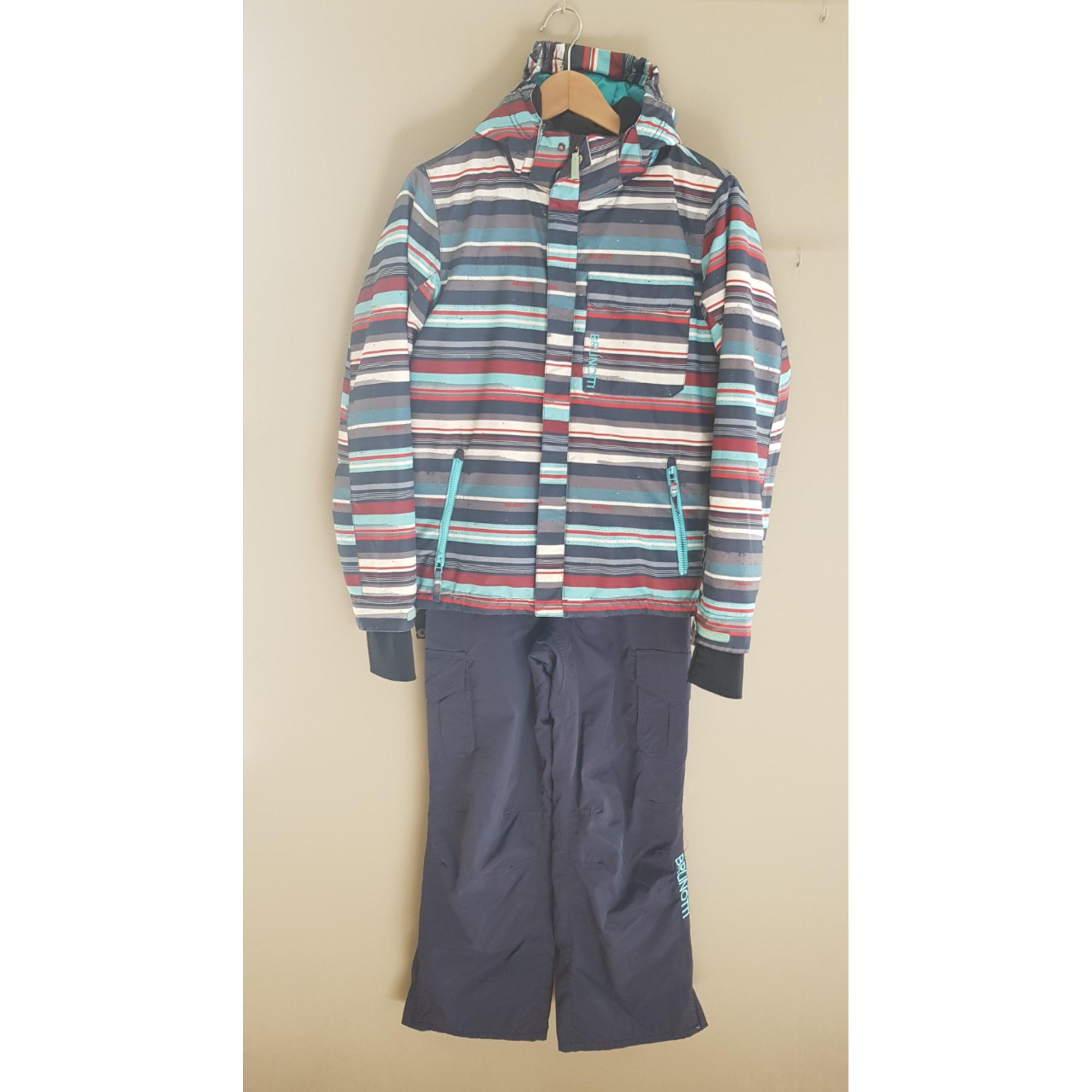 cf98419018d12 Combinaison de ski BRUNOTTI polyester bleu 164