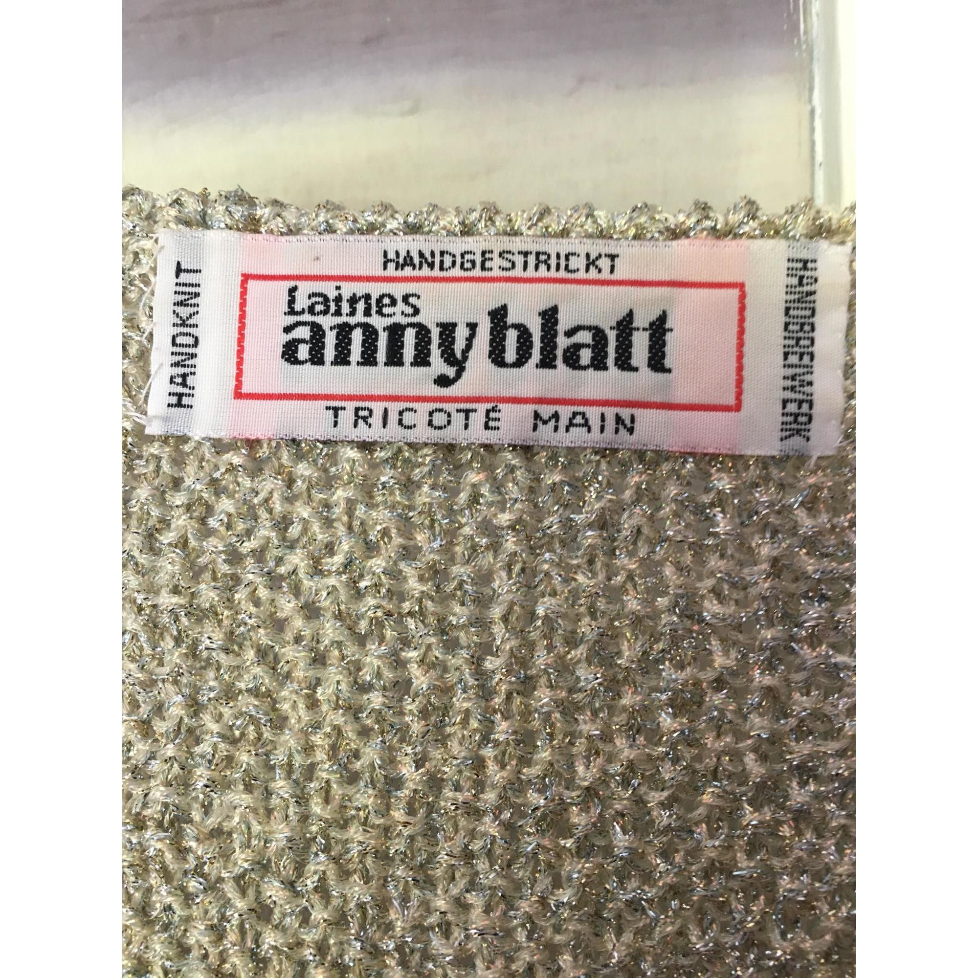 Gilet, cardigan ANNY BLATT Blanc, blanc cassé, écru