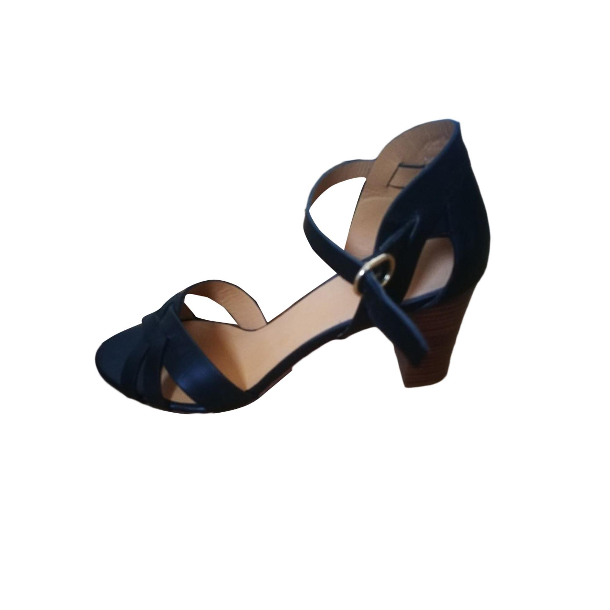 Sandales à talons SÉZANE Noir