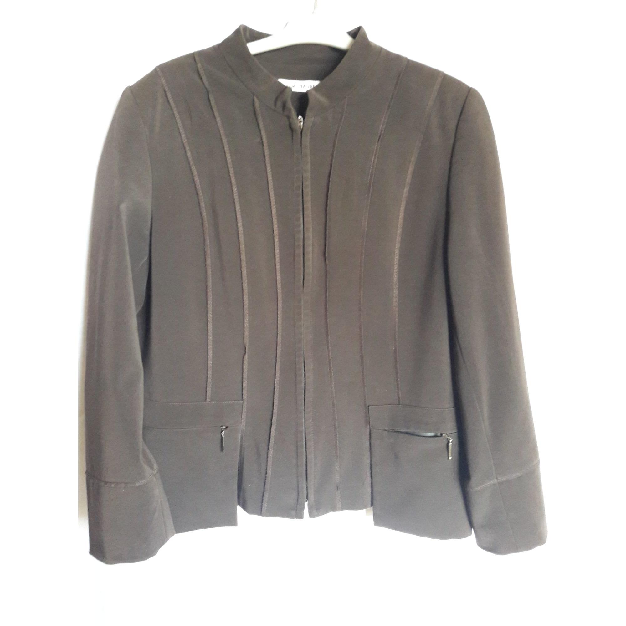 Blazer, veste tailleur CHRISTINE LAURE Marron