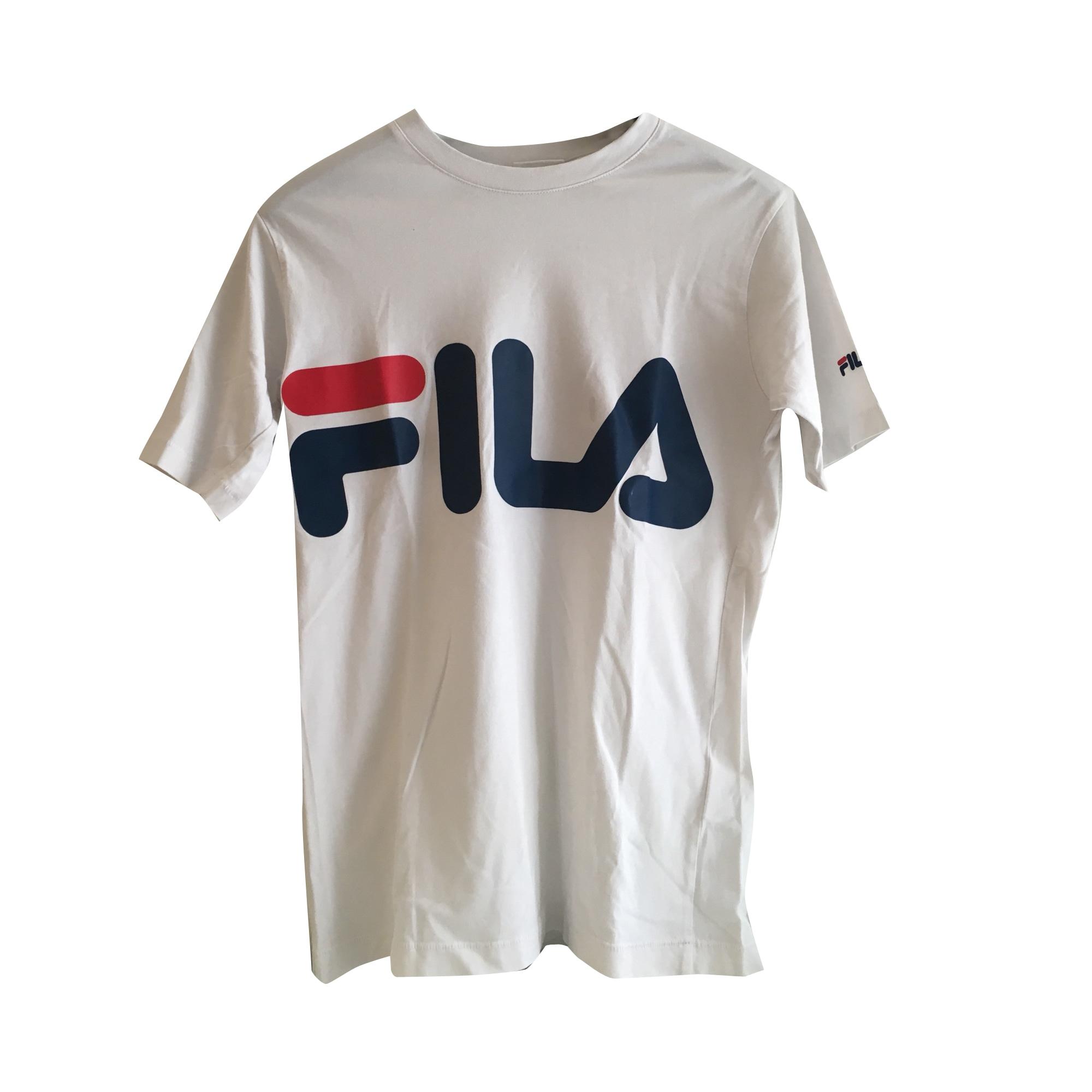 Top, tee-shirt FILA Blanc, blanc cassé, écru
