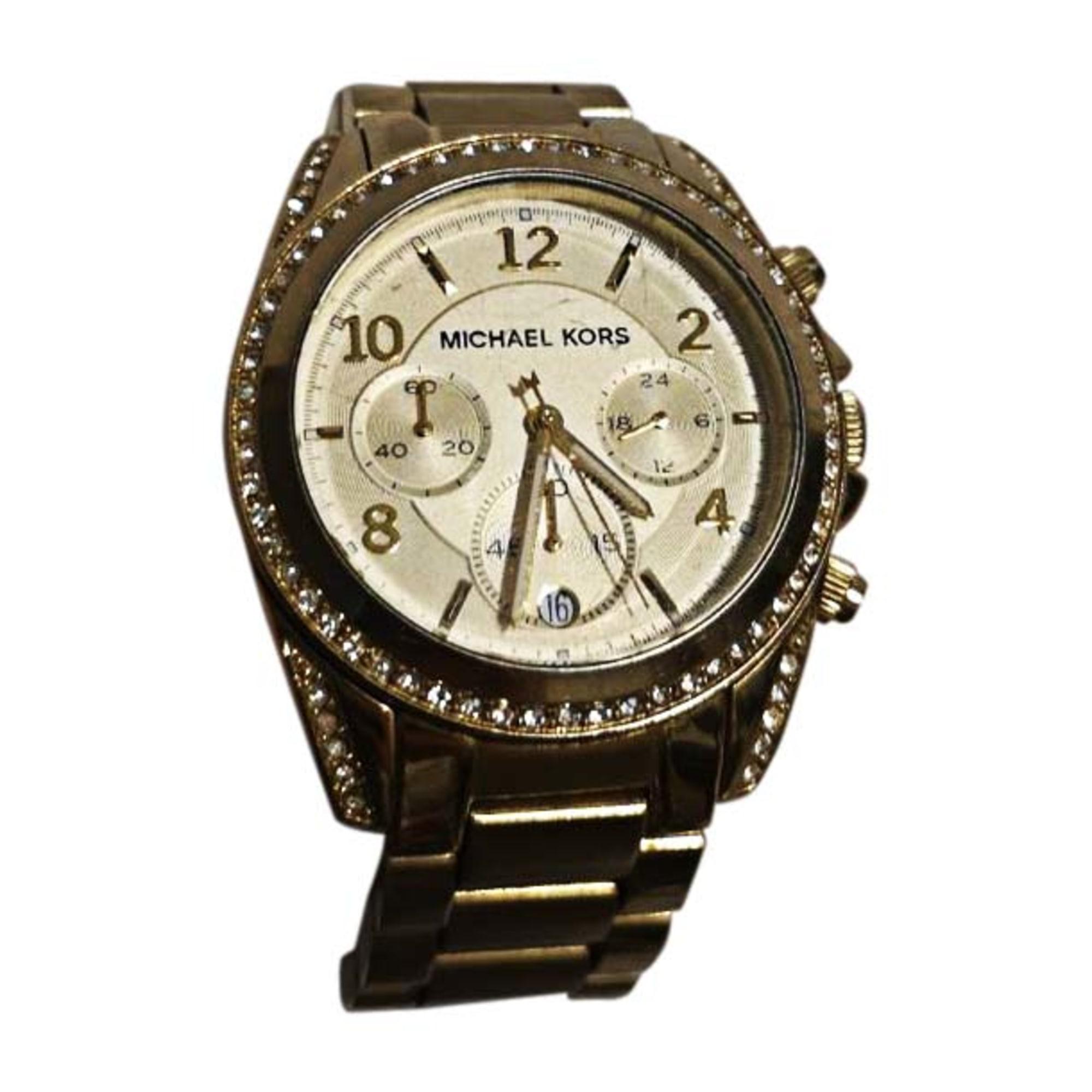 Wrist Watch MICHAEL KORS Golden, bronze, copper
