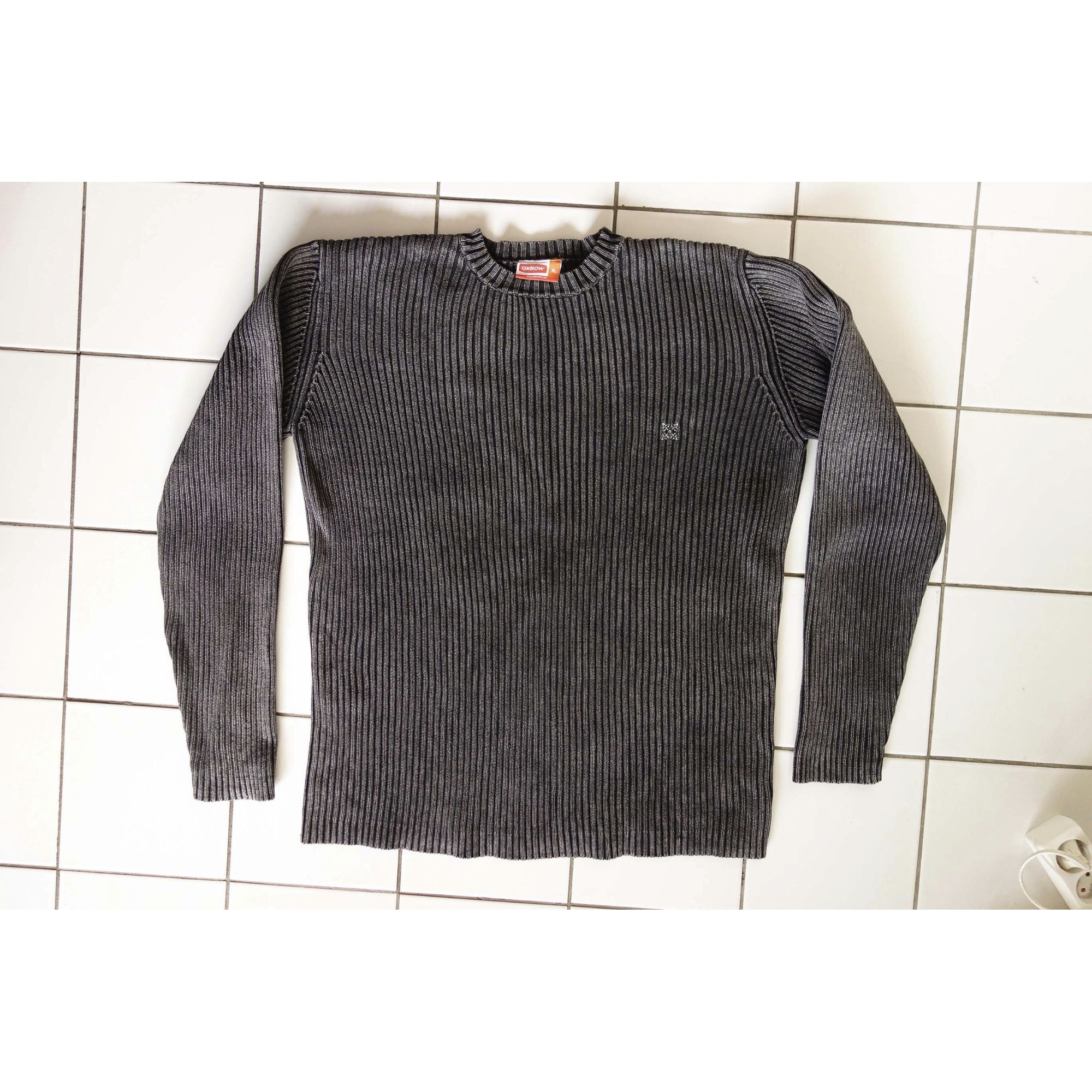 Pull OXBOW Gris, anthracite