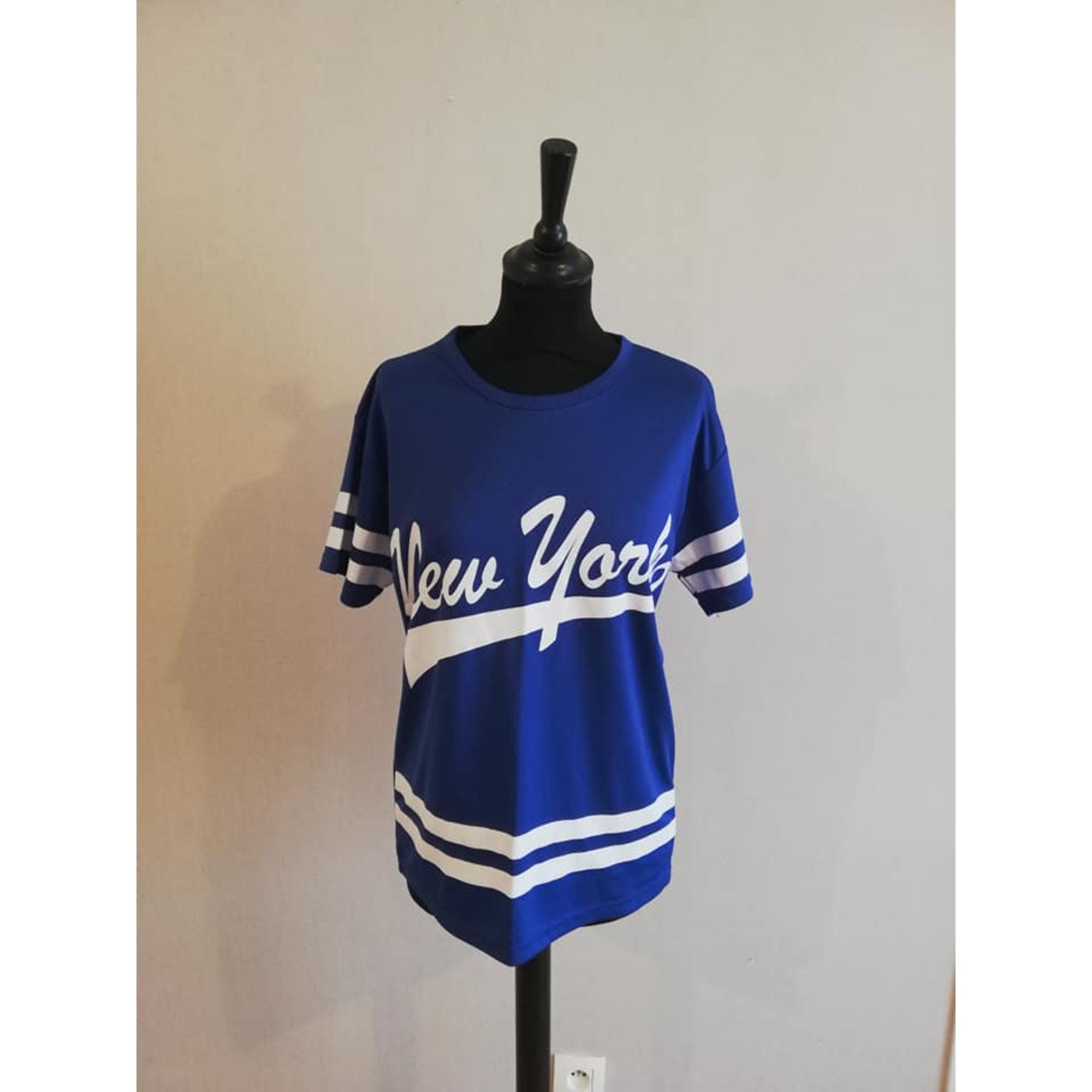 Top, tee-shirt MIM Bleu, bleu marine, bleu turquoise