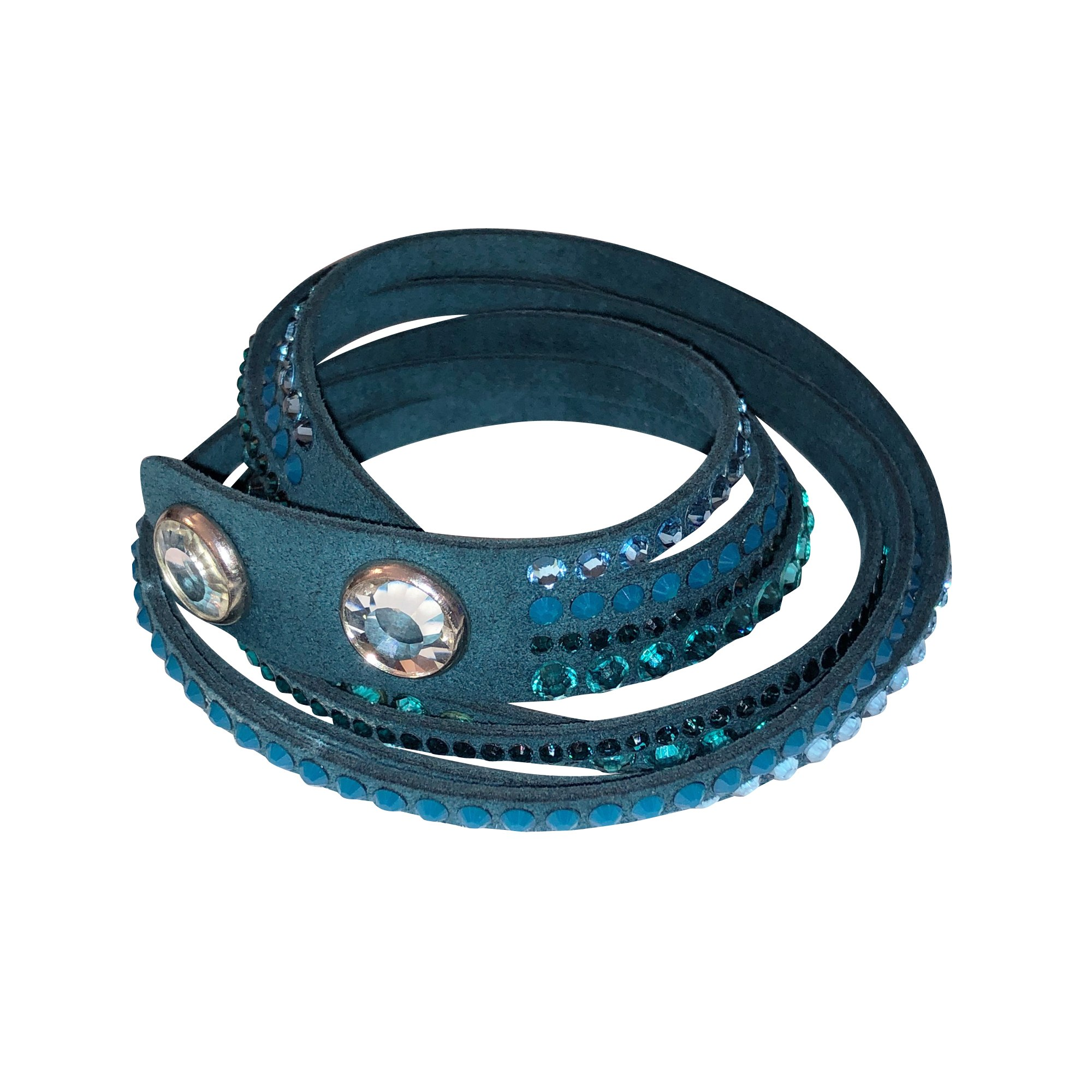 bracelet swarovski bleu turquoise