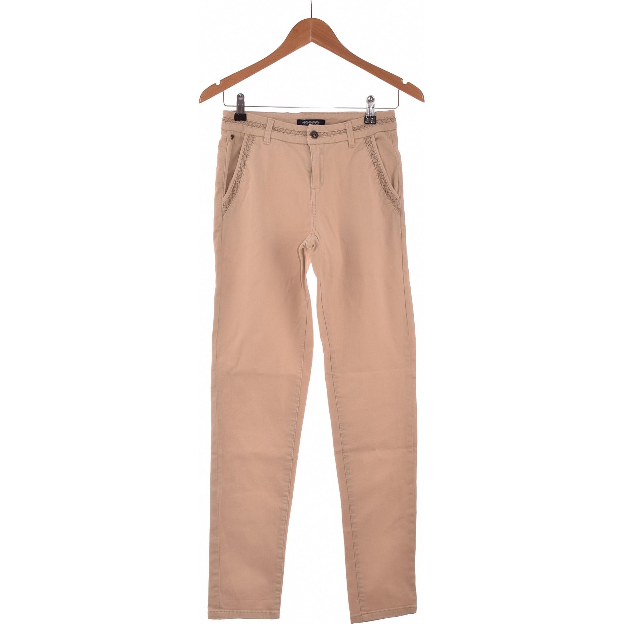 Jeans droit BONOBO Beige, camel