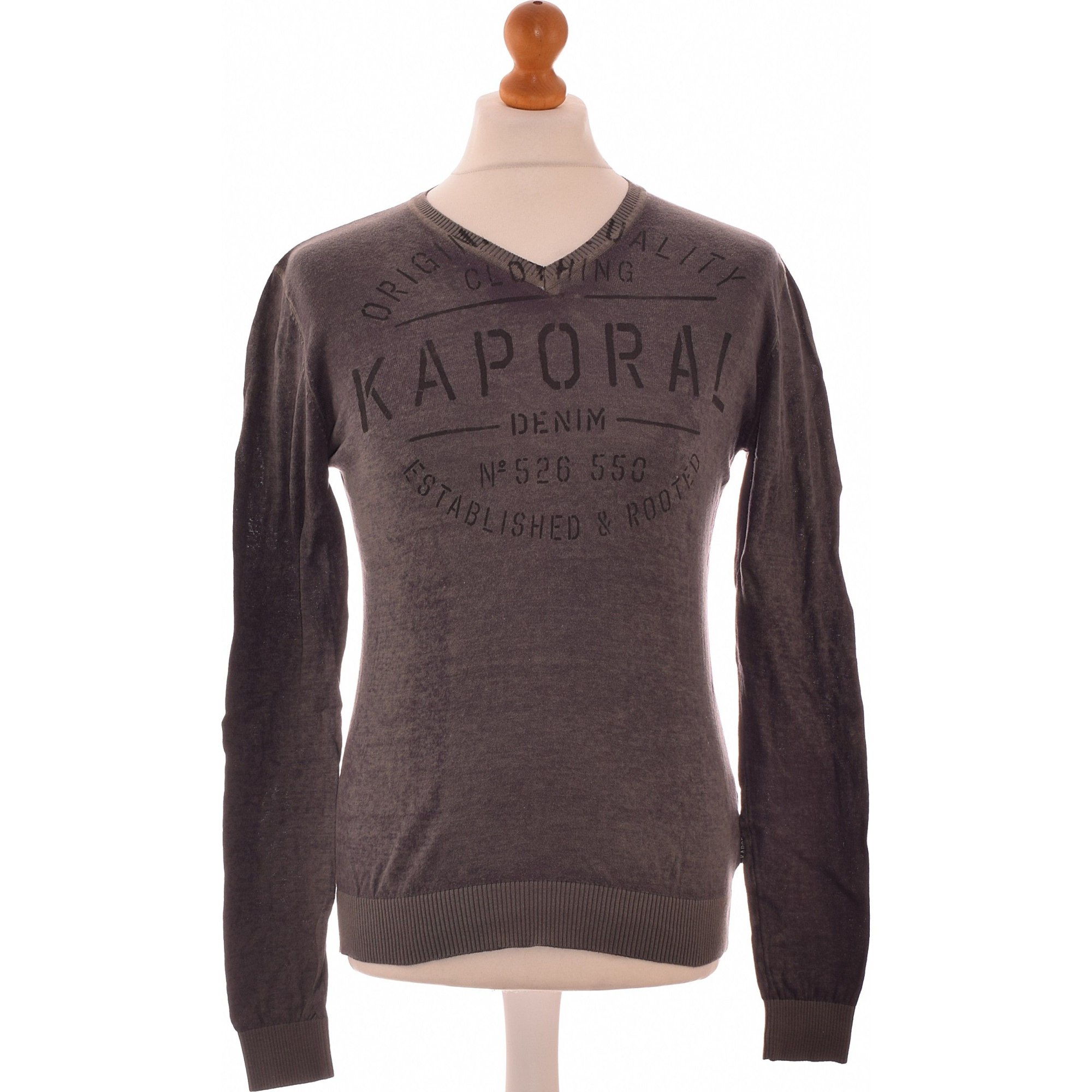 Pull KAPORAL Gris, anthracite