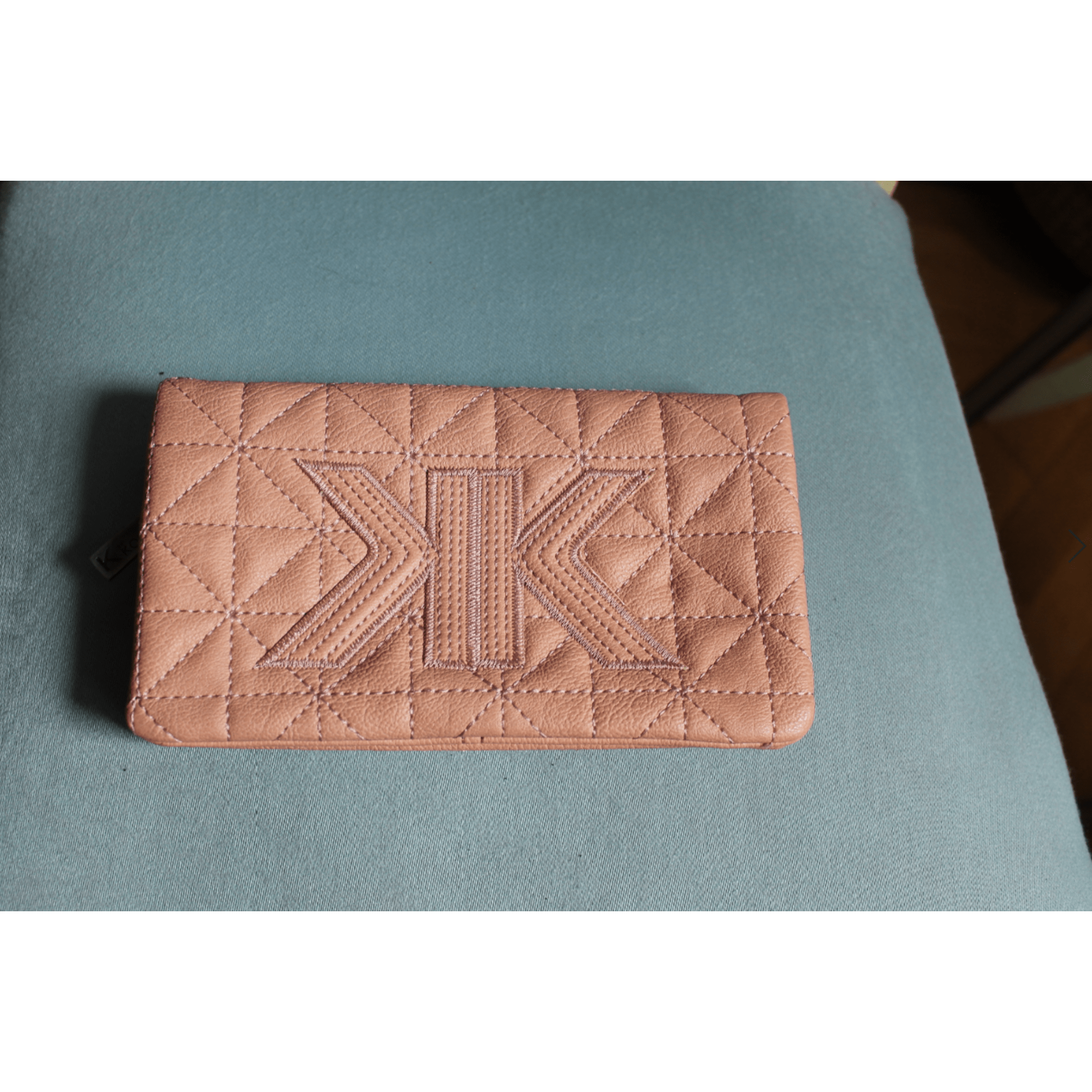 Porte-cartes KOOKAI simili cuir  rose