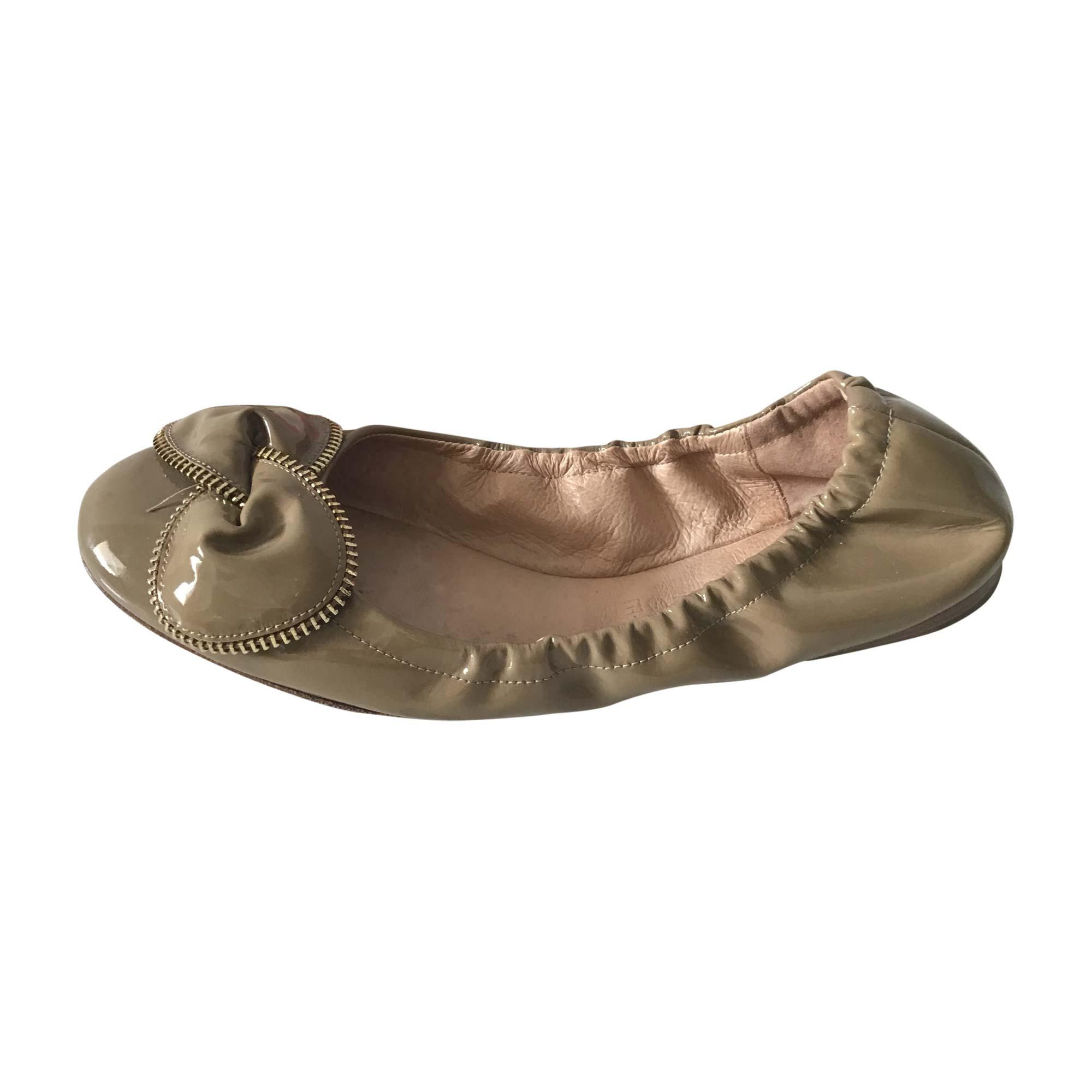 Ballet Flats SEE BY CHLOE Beige, camel