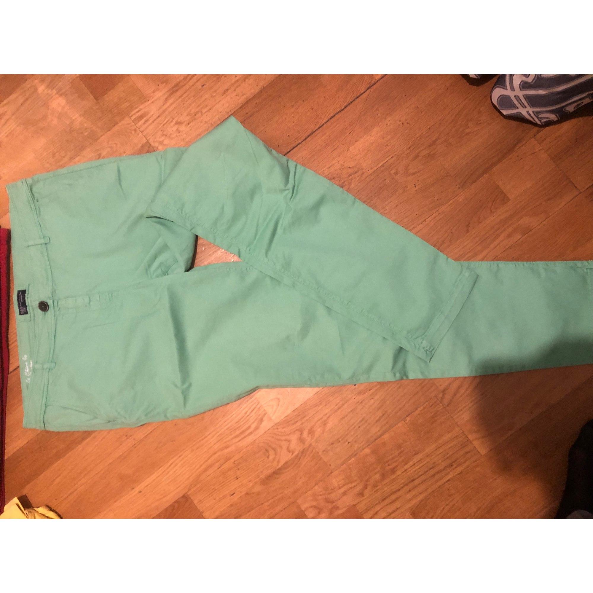 Pantalon droit BURTON Vert