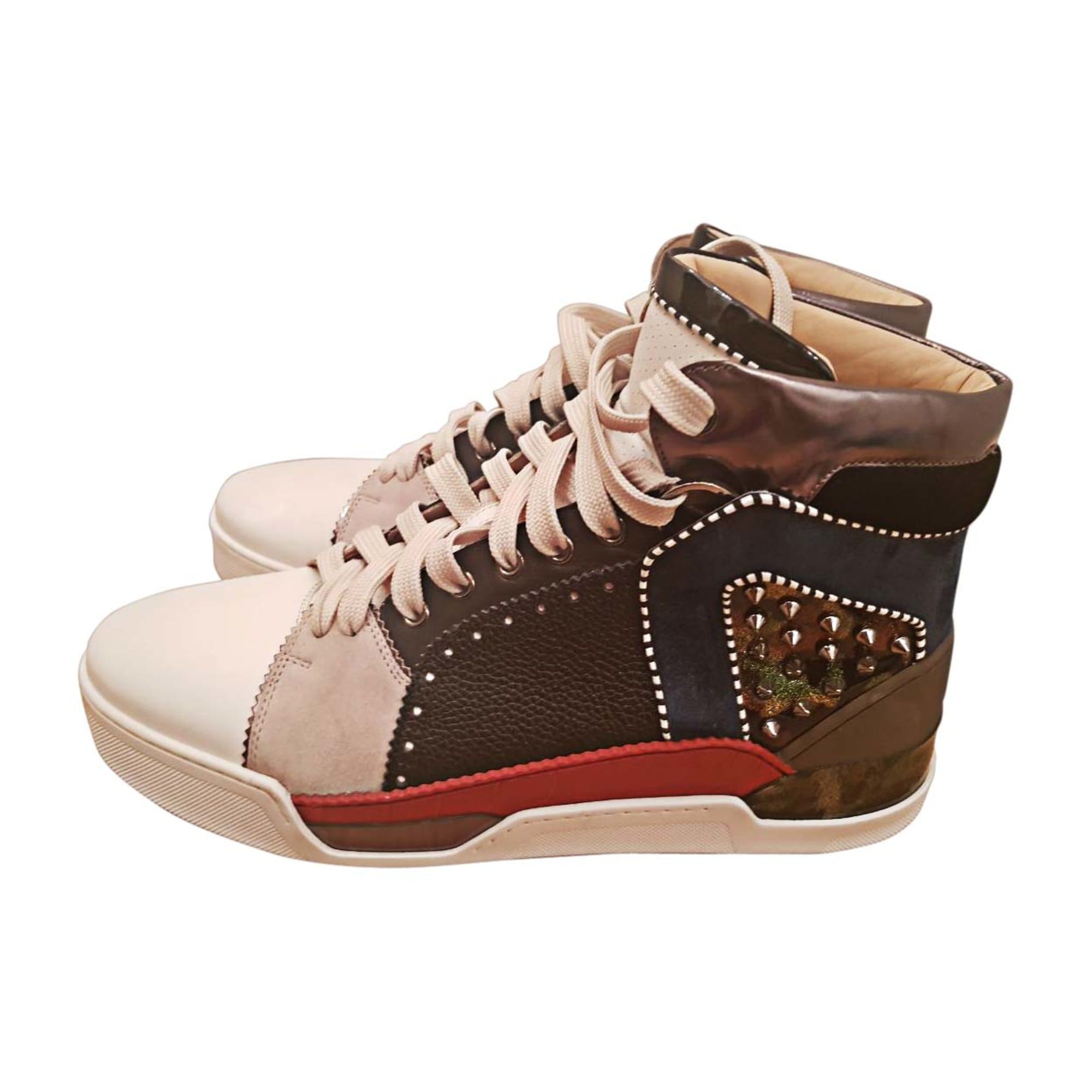 Baskets CHRISTIAN LOUBOUTIN multicolor