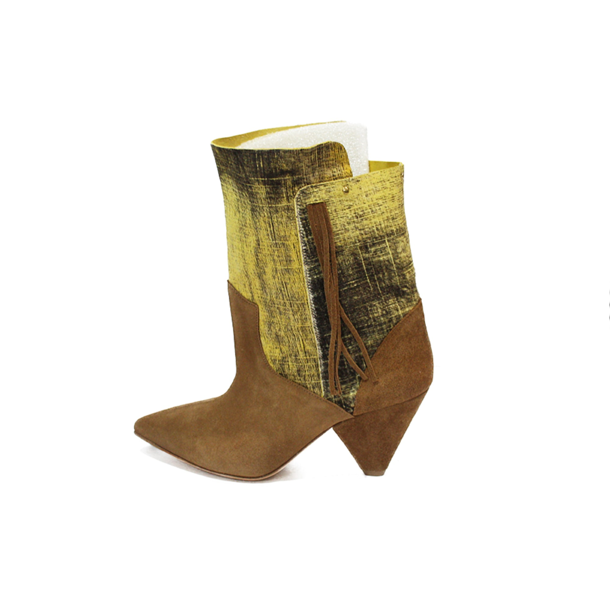 Bottines & low boots à talons JEROME DREYFUSS Beige, camel