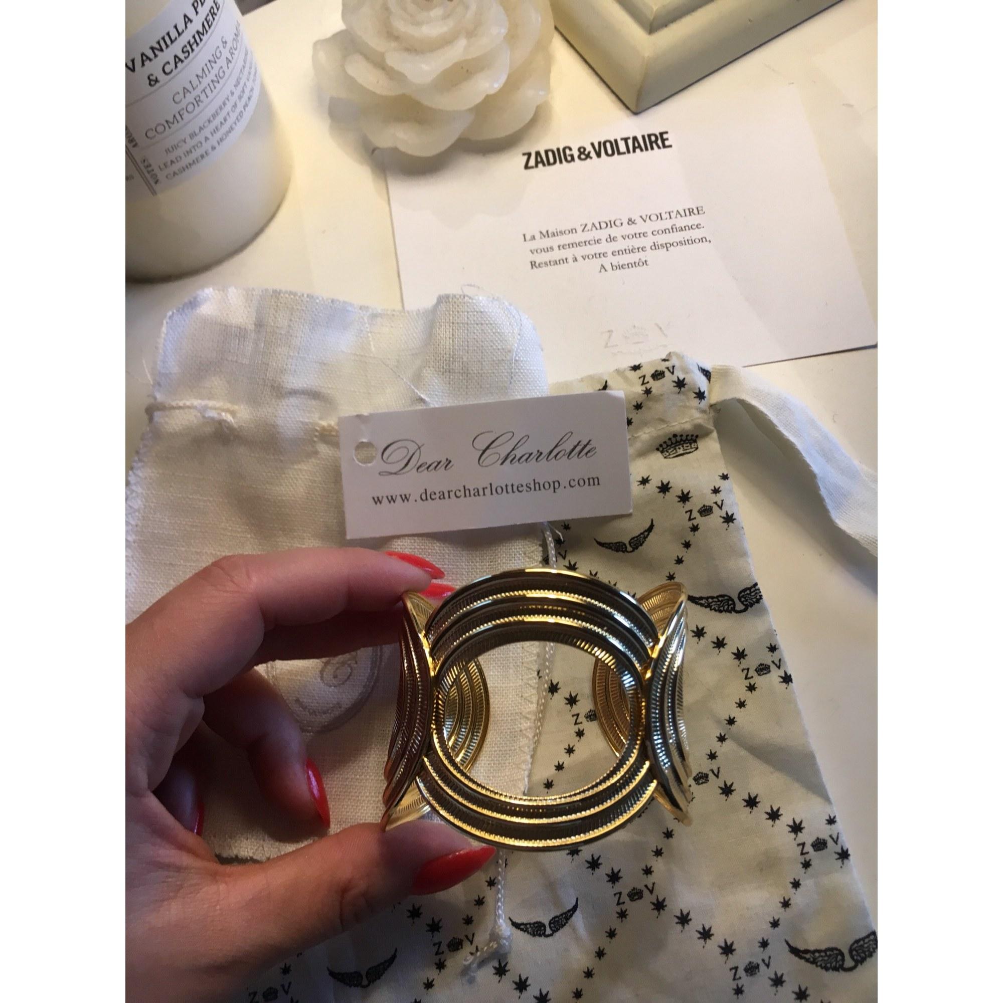 Bracelet DEAR CHARLOTTE or jaune doré