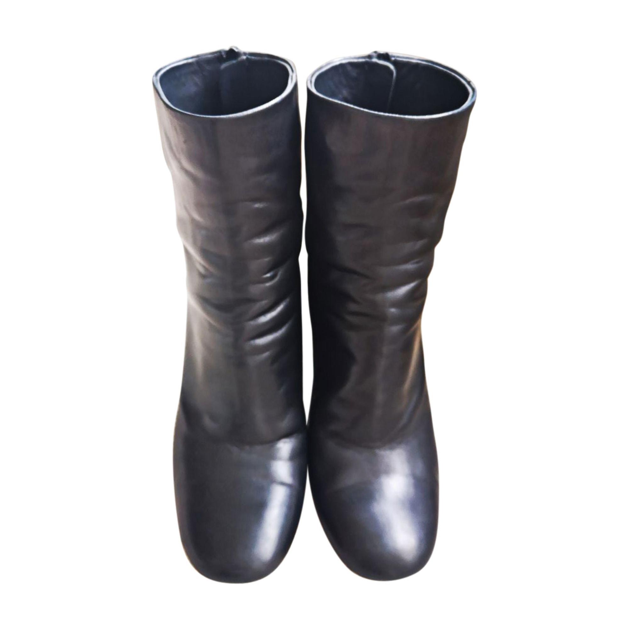 Bottines & low boots à talons ISABEL MARANT Noir
