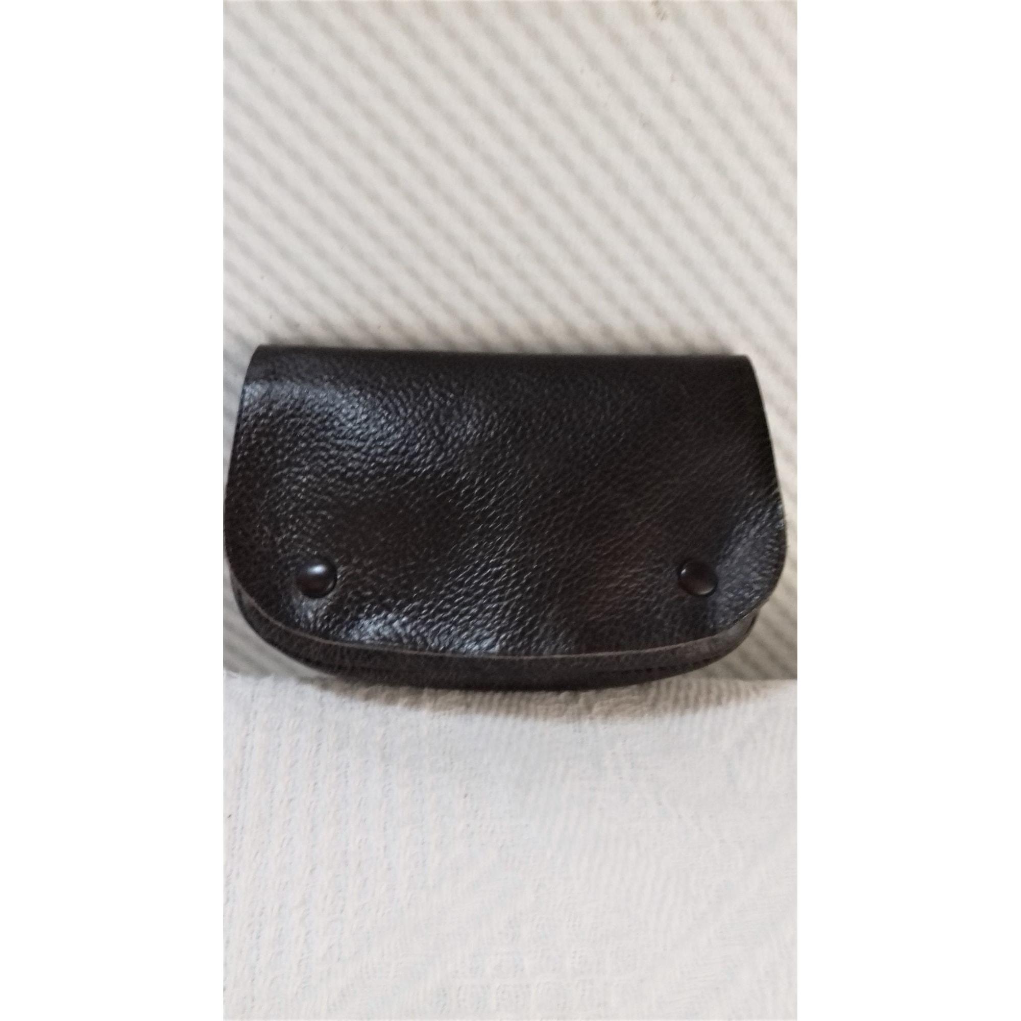 Porte-cigarette LE TANNEUR cuir marron