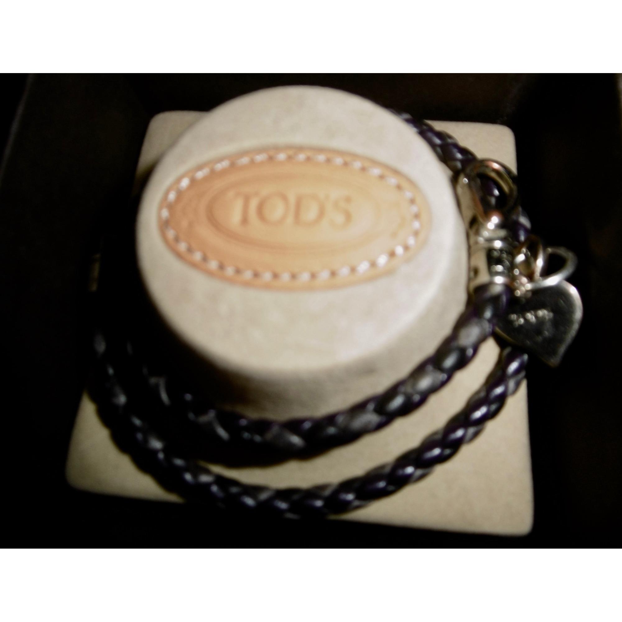 Bracelet TOD'S cuir marron