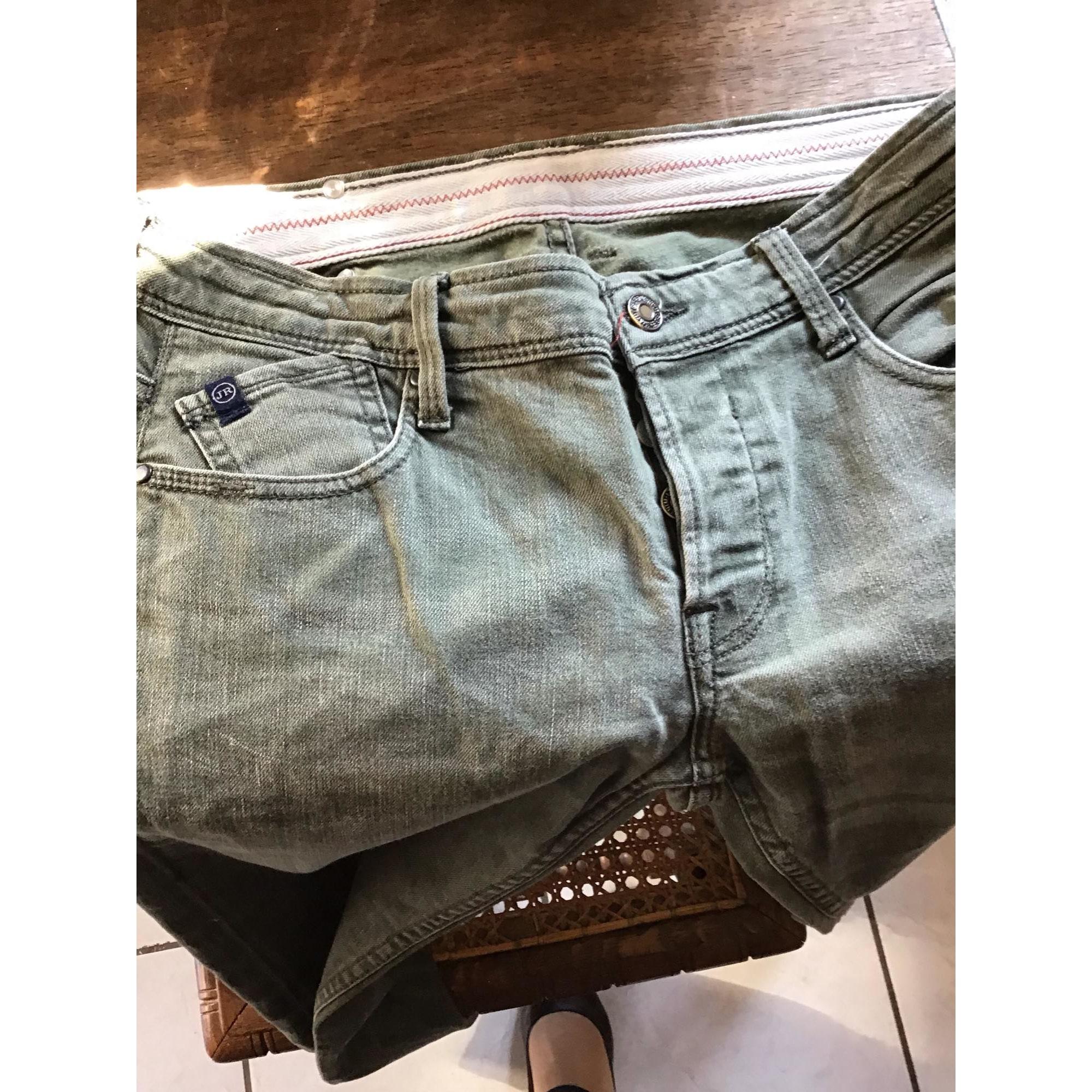 Pantalon LE TEMPS DES CERISES coton kaki 27