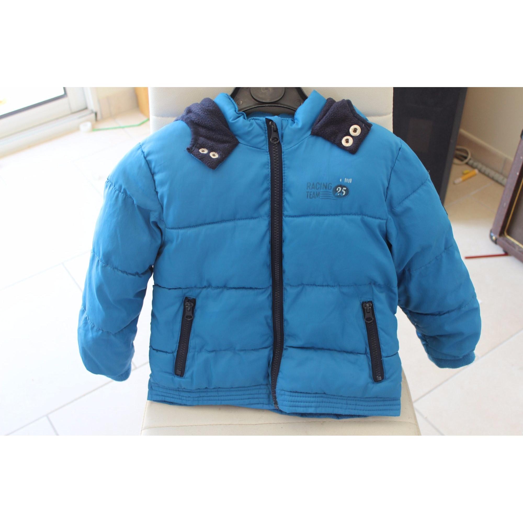Doudoune KIDKANAI Bleu, bleu marine, bleu turquoise