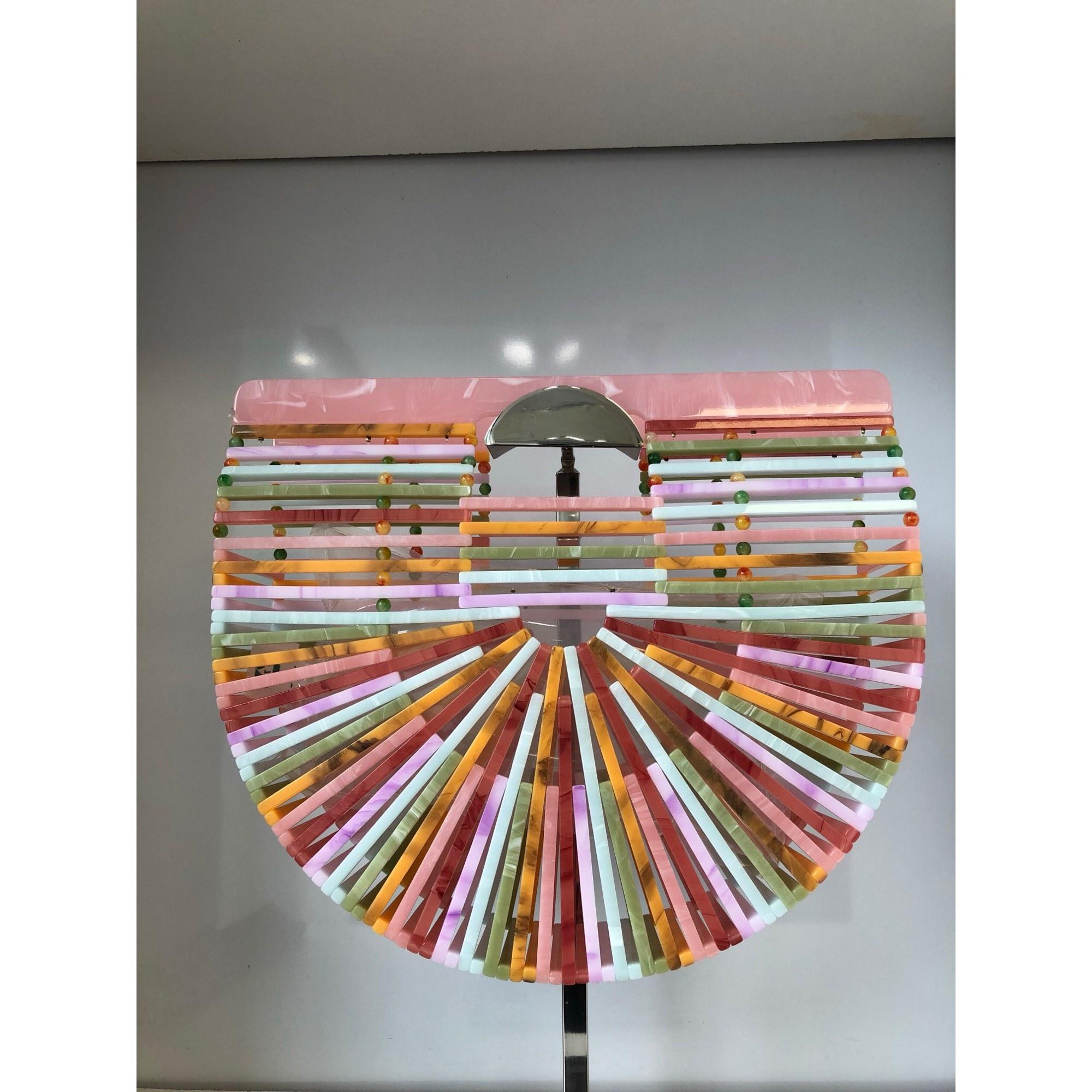Pochette CARLA SAMUEL plastique multicolore