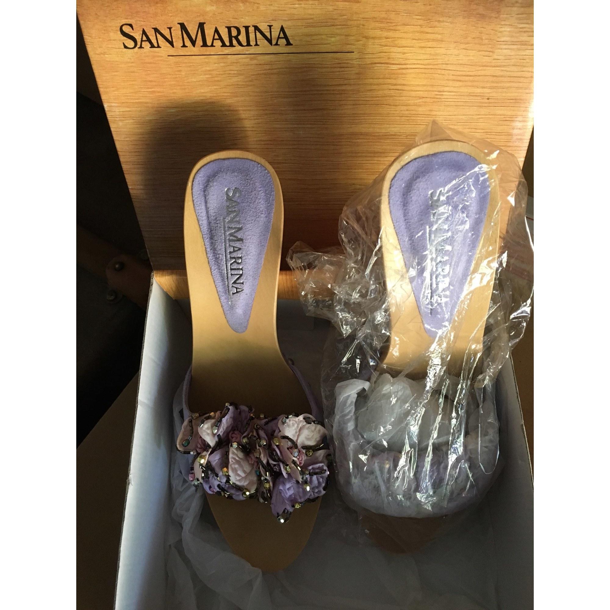 Sabots SAN MARINA Violet, mauve, lavande