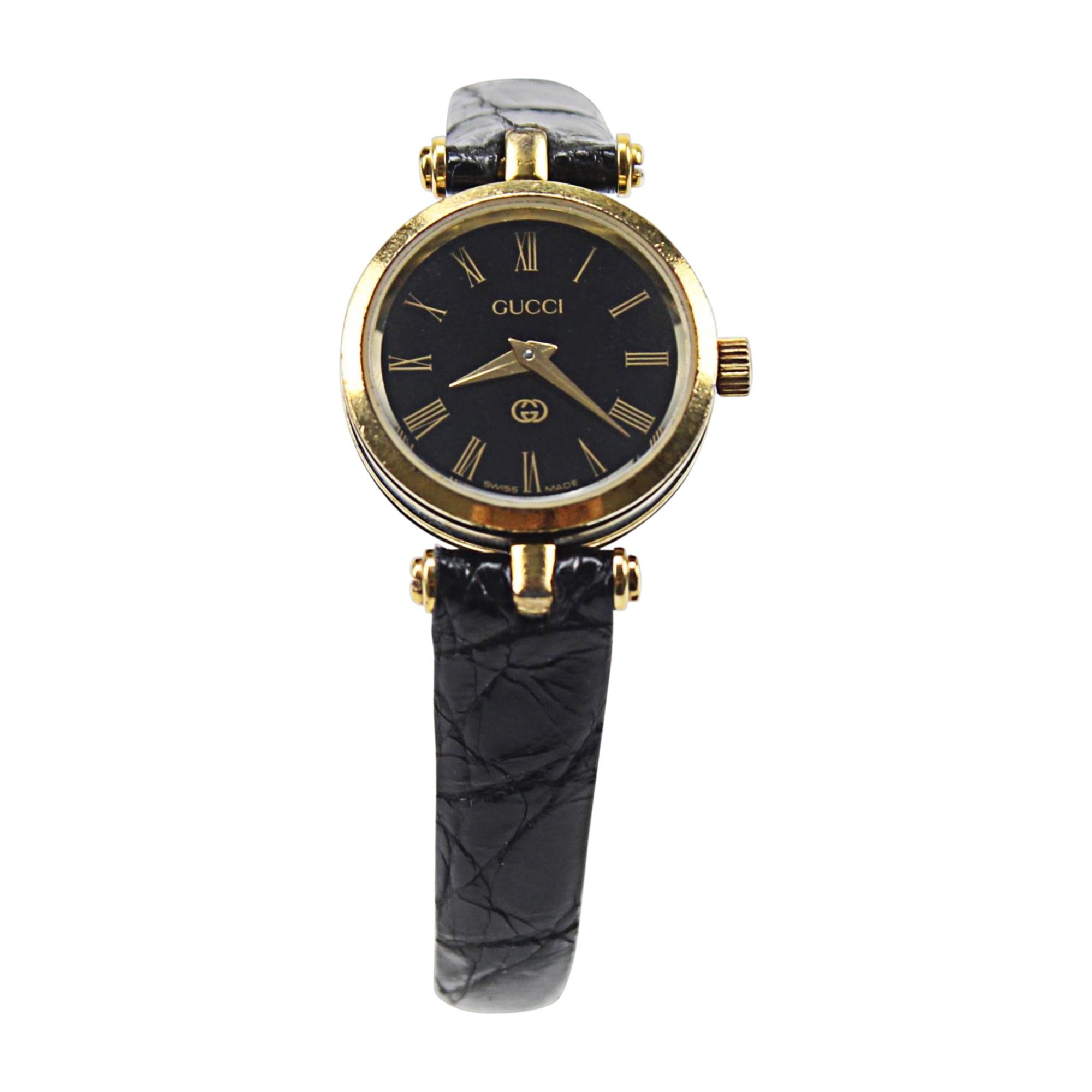Armbanduhr GUCCI Schwarz
