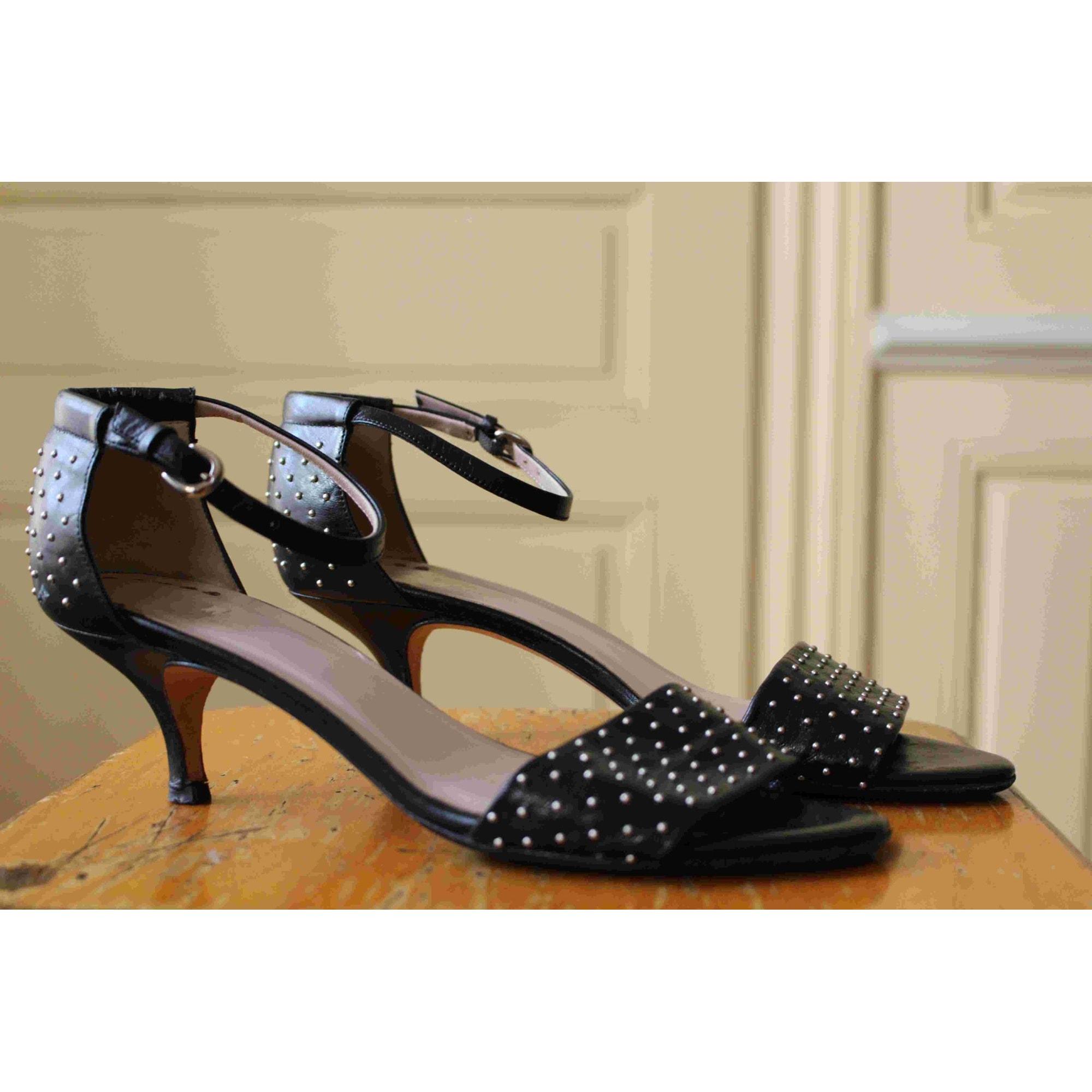 Sandales à talons ZAPA Noir